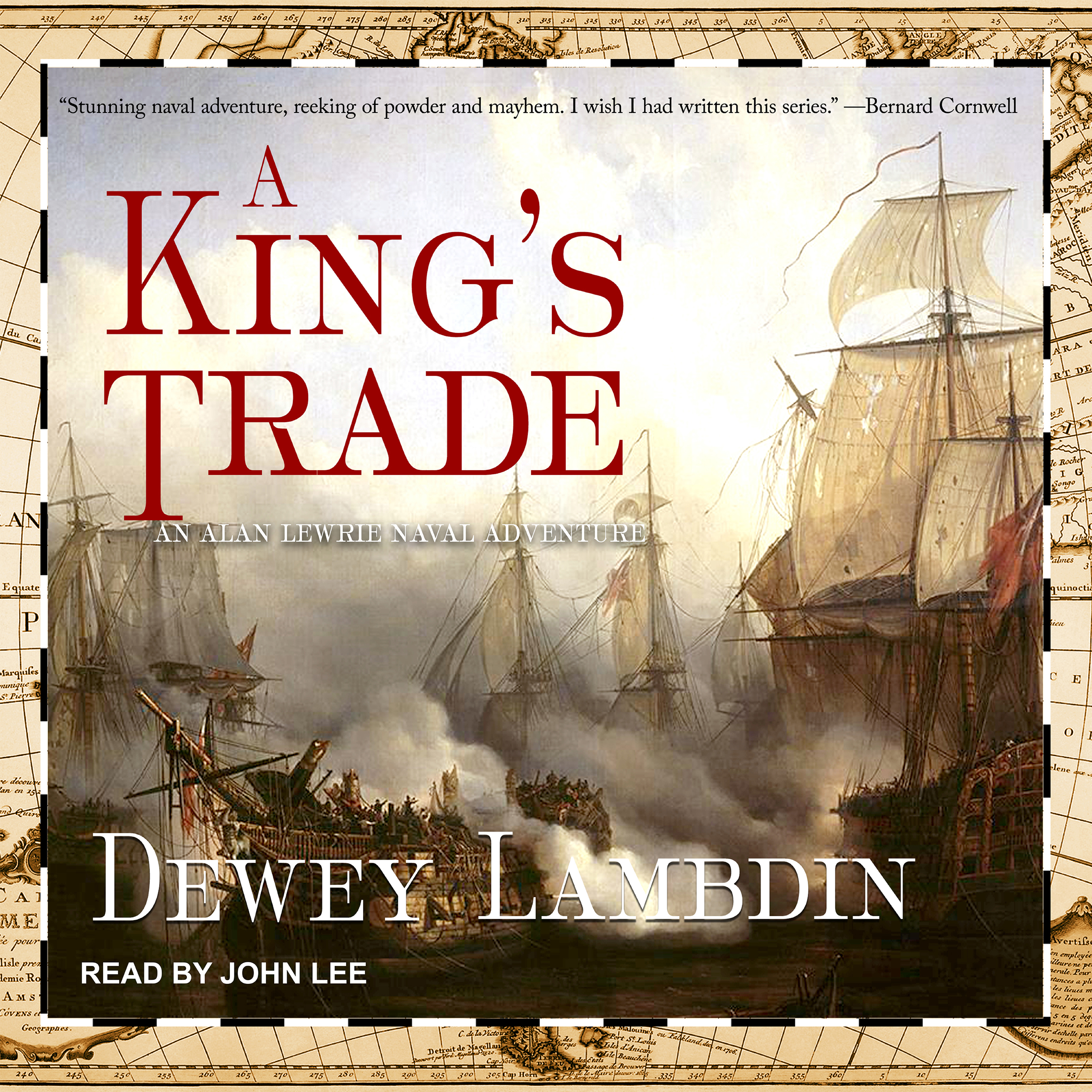 Printable A King's Trade Audiobook Cover Art