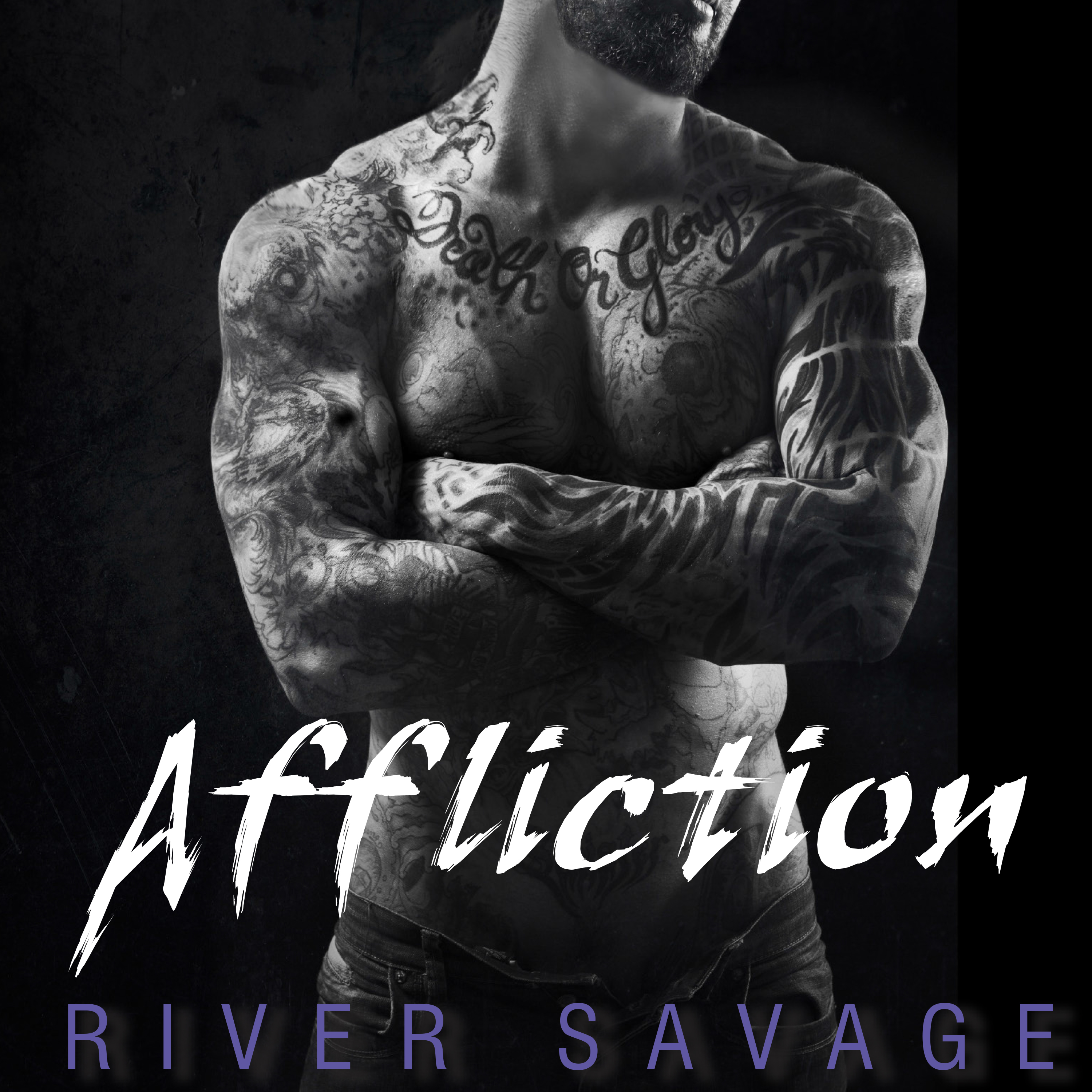 Printable Affliction Audiobook Cover Art