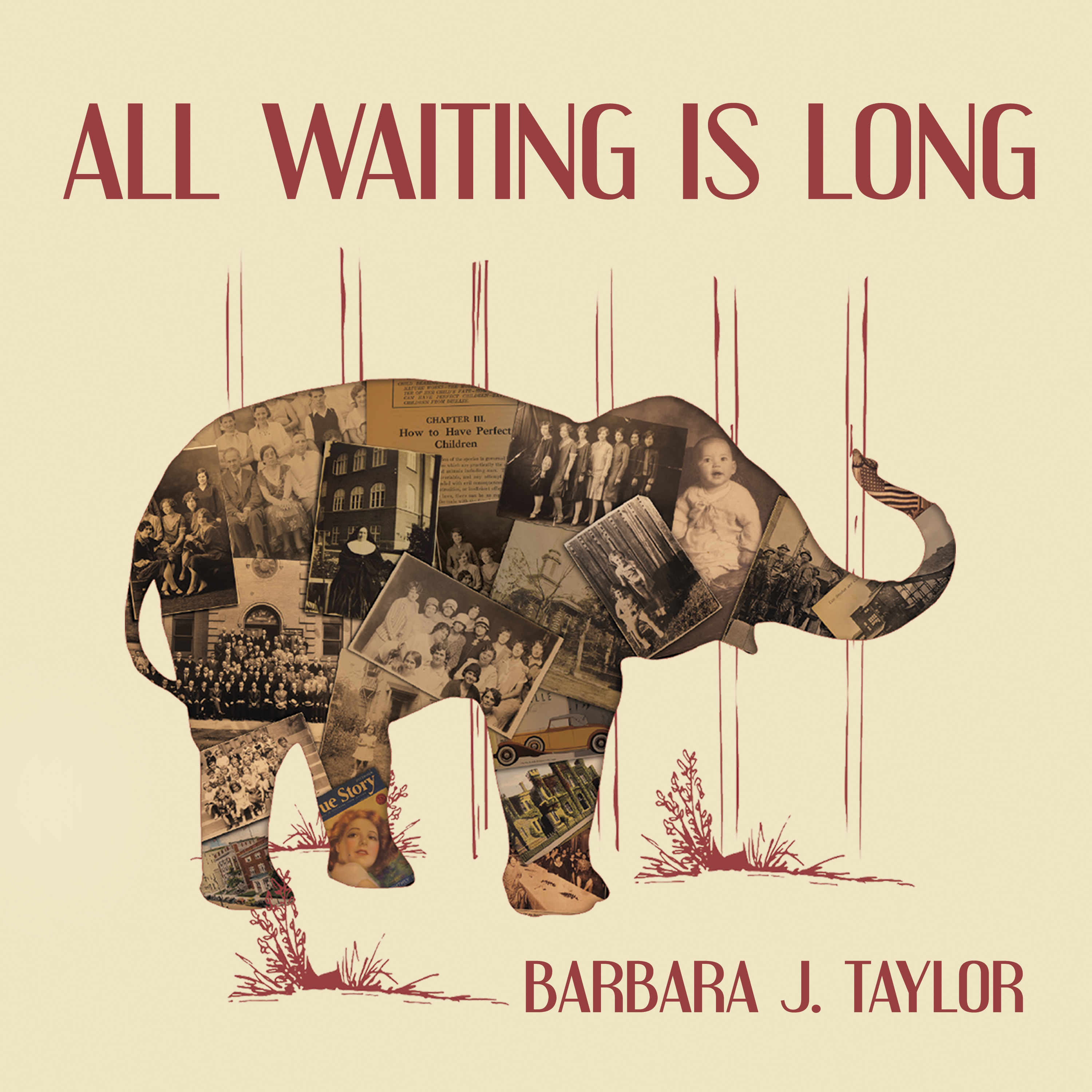 Printable All Waiting Is Long  Audiobook Cover Art