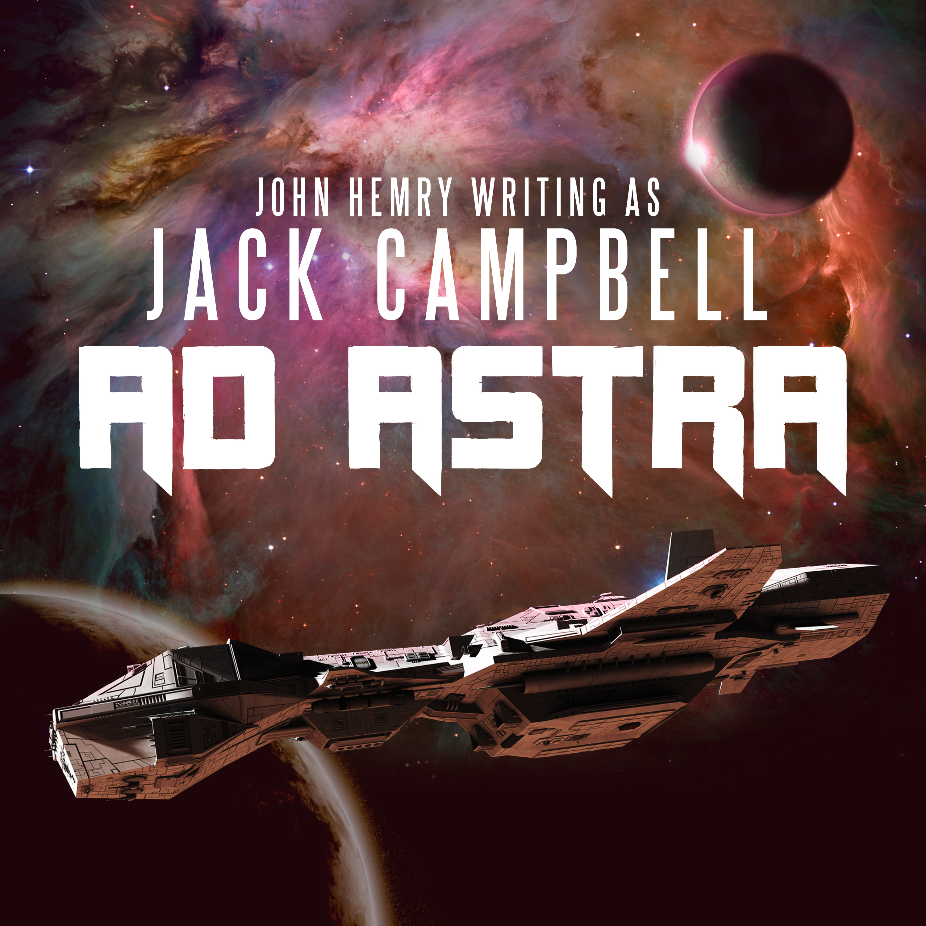 Printable Ad Astra Audiobook Cover Art