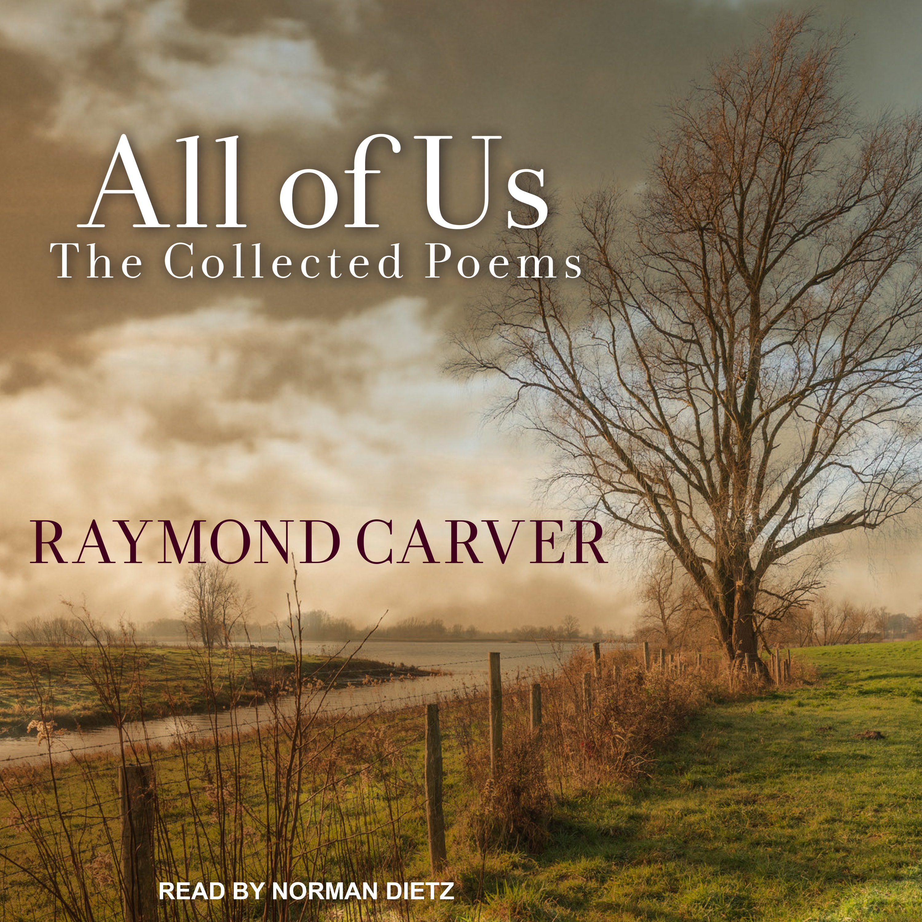 Printable All of Us: The Collected Poems Audiobook Cover Art