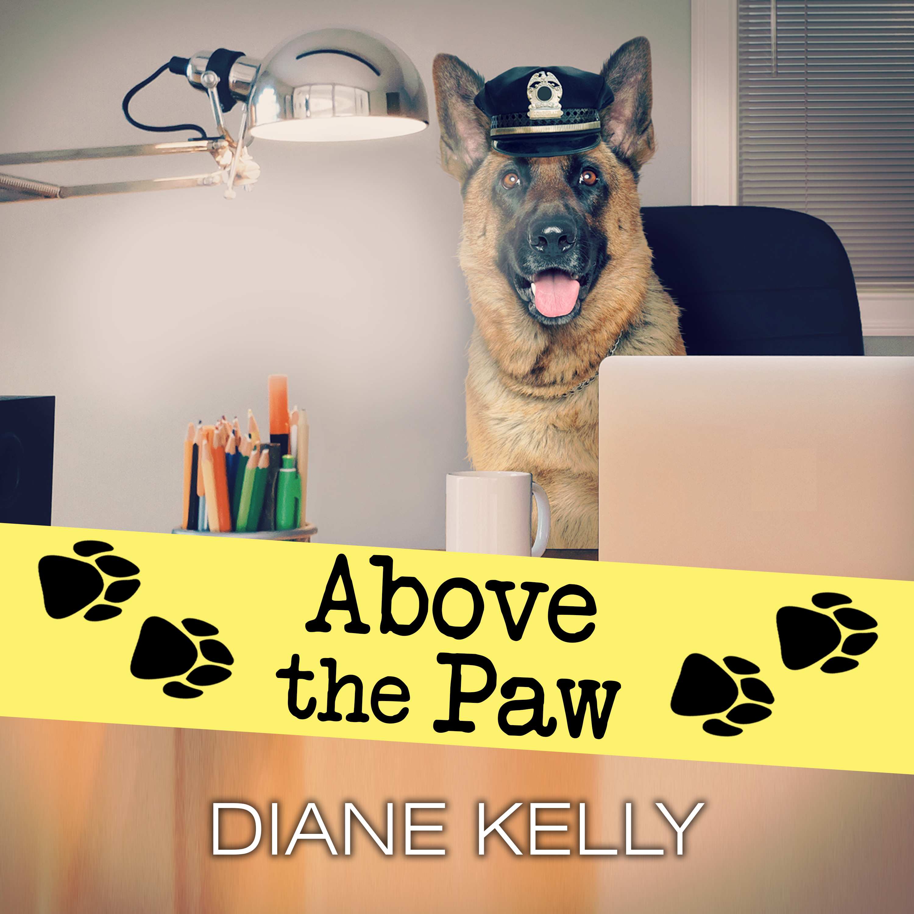 Printable Above the Paw Audiobook Cover Art