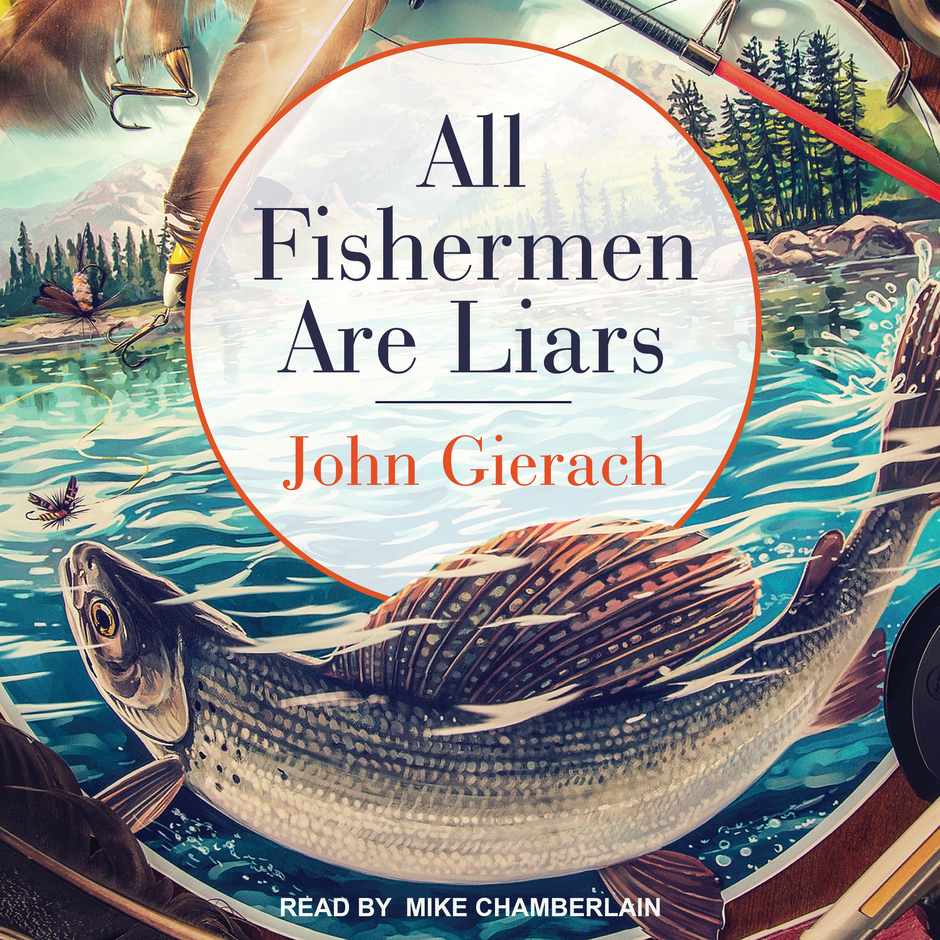 Printable All Fishermen Are Liars Audiobook Cover Art