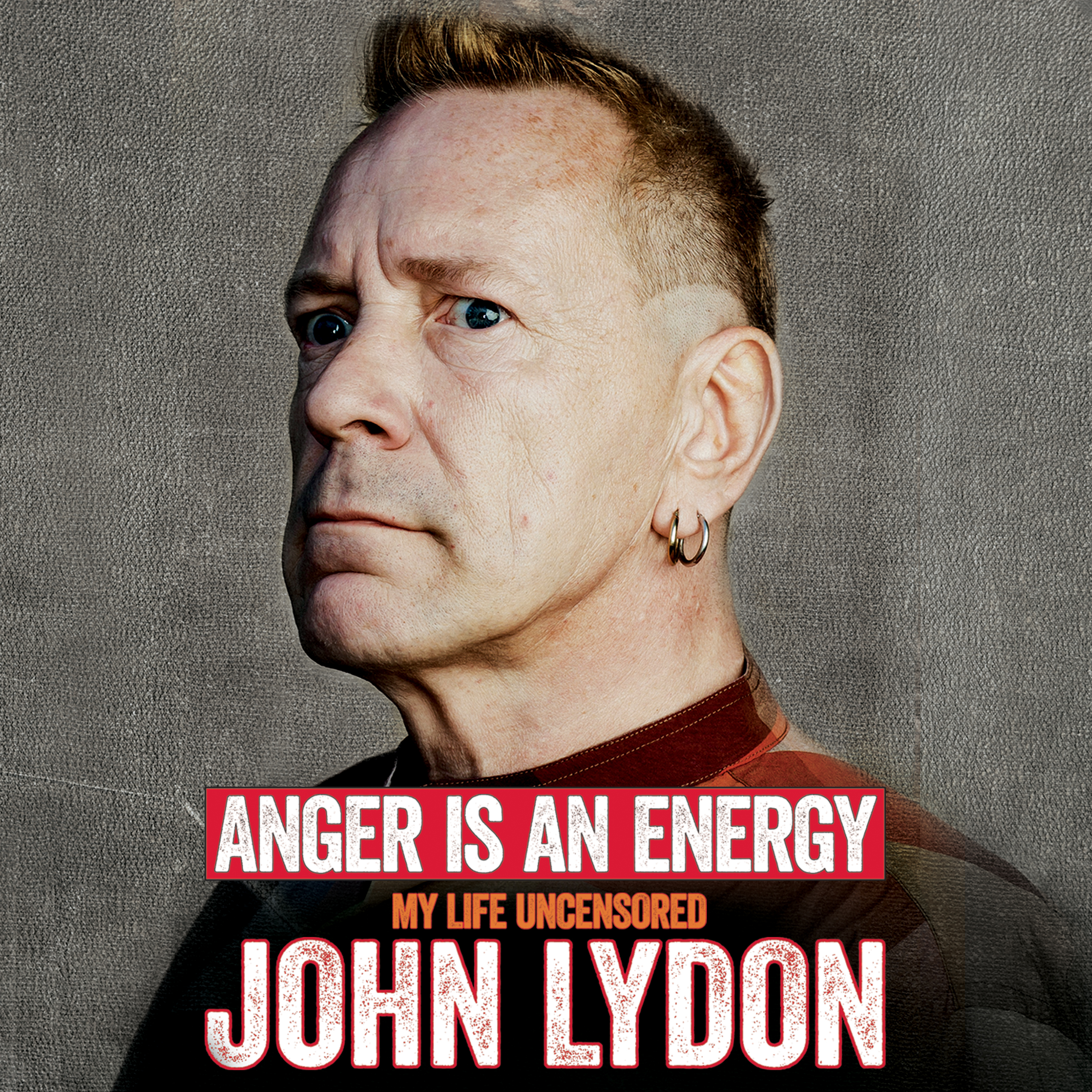 Printable Anger Is an Energy: My Life Uncensored Audiobook Cover Art