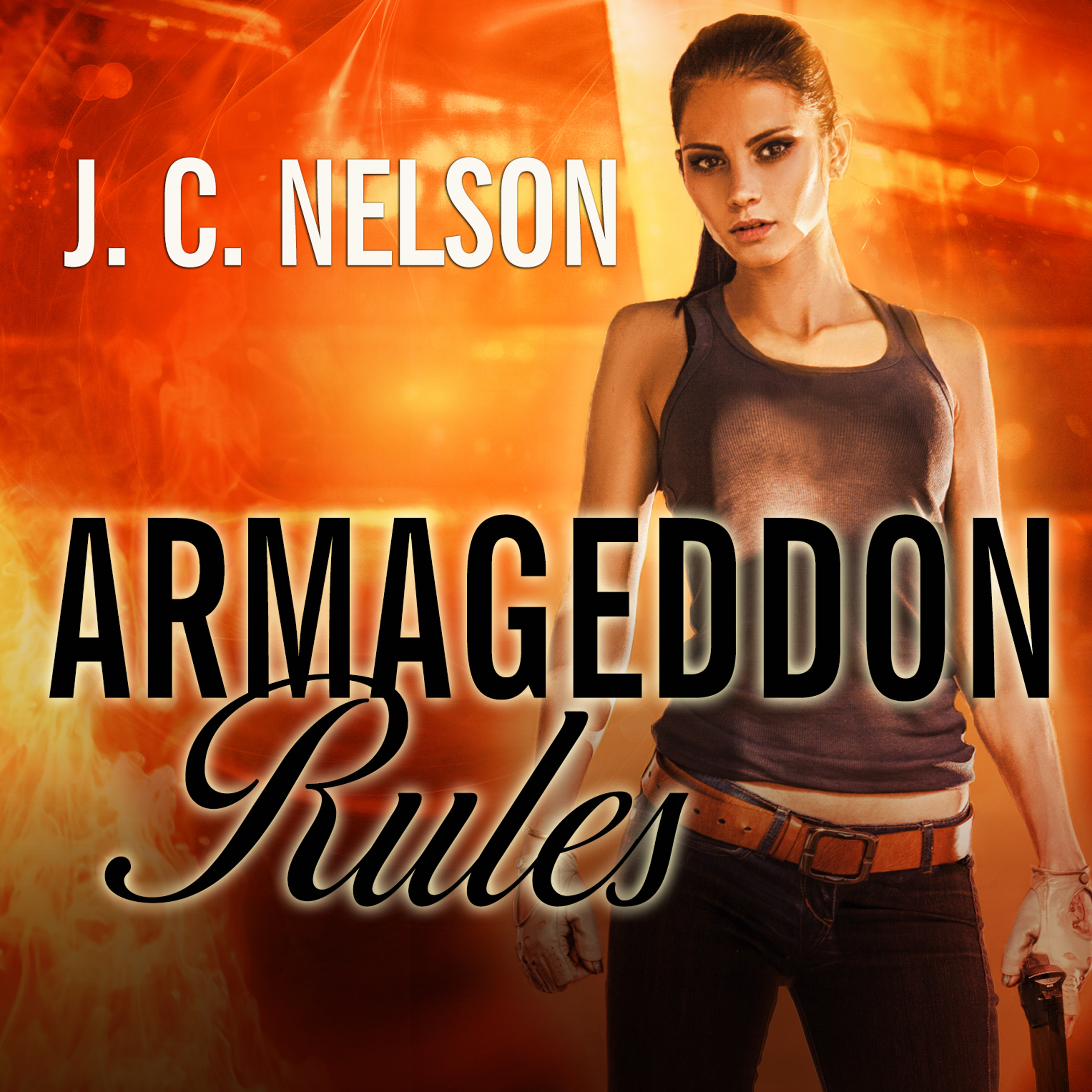 Printable Armageddon Rules Audiobook Cover Art
