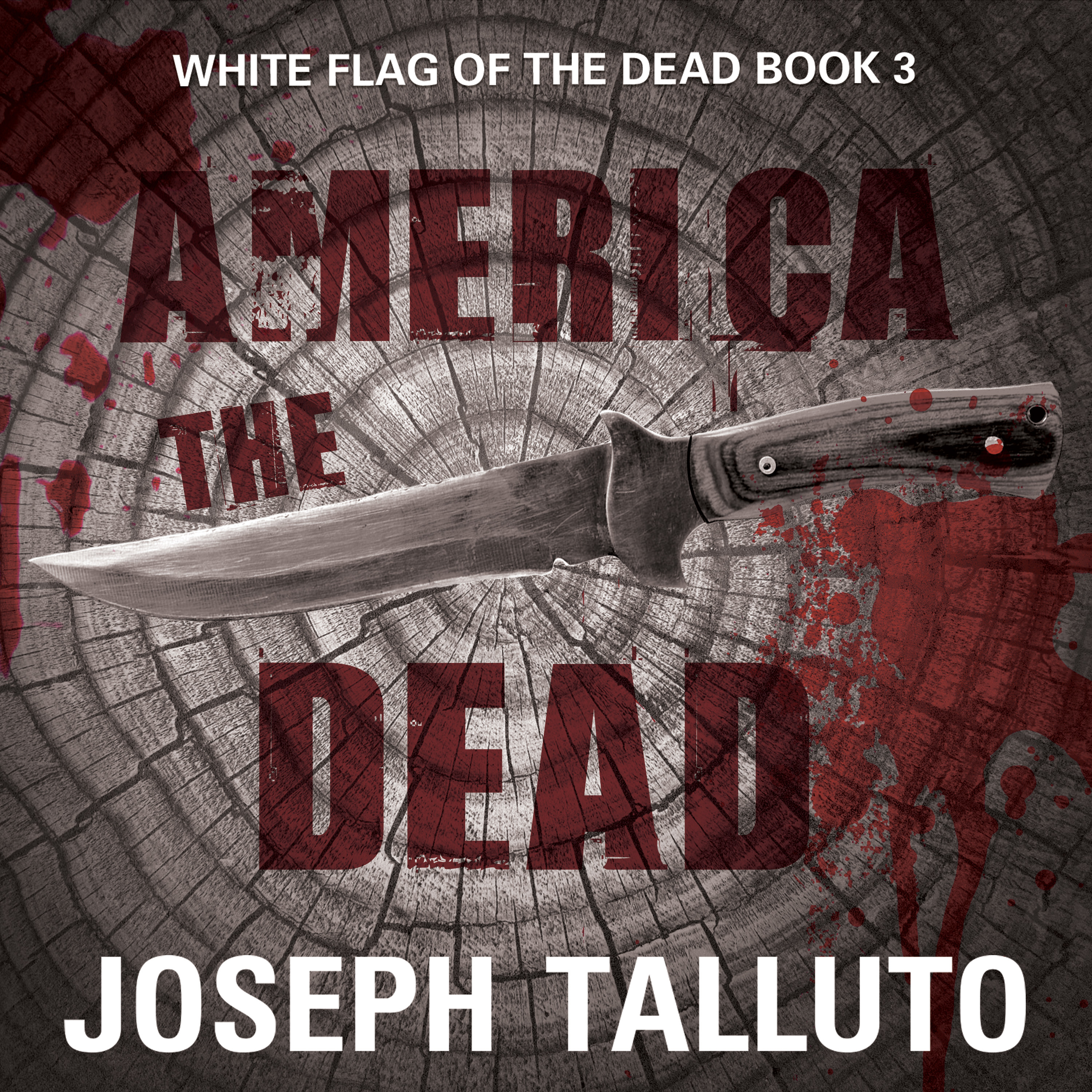 Printable America the Dead Audiobook Cover Art