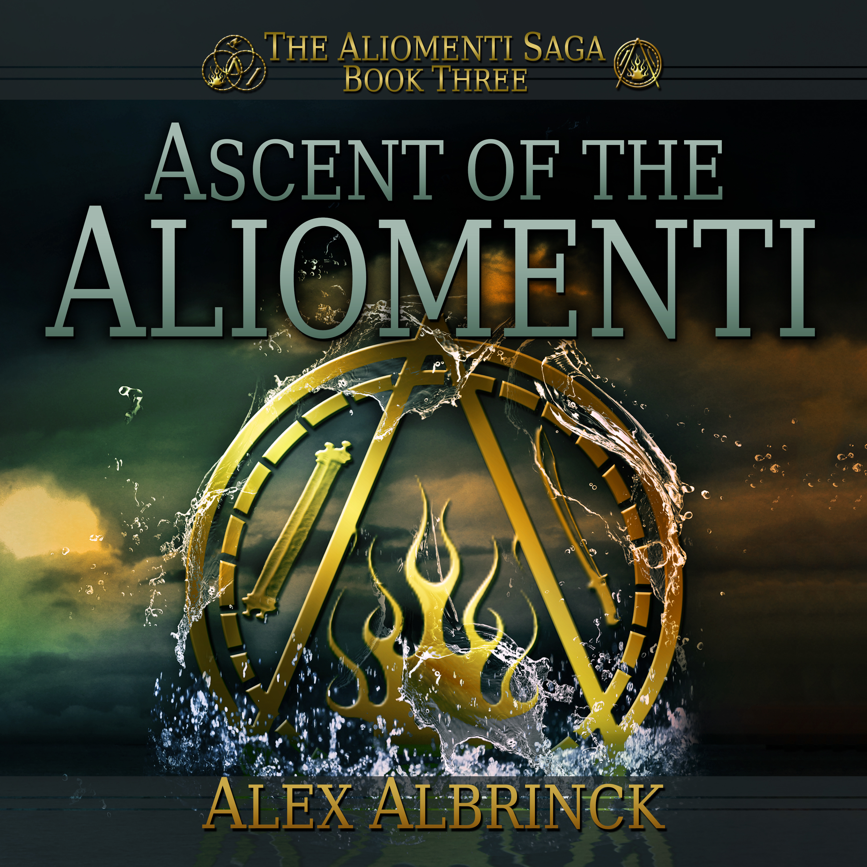 Printable Ascent of the Aliomenti Audiobook Cover Art