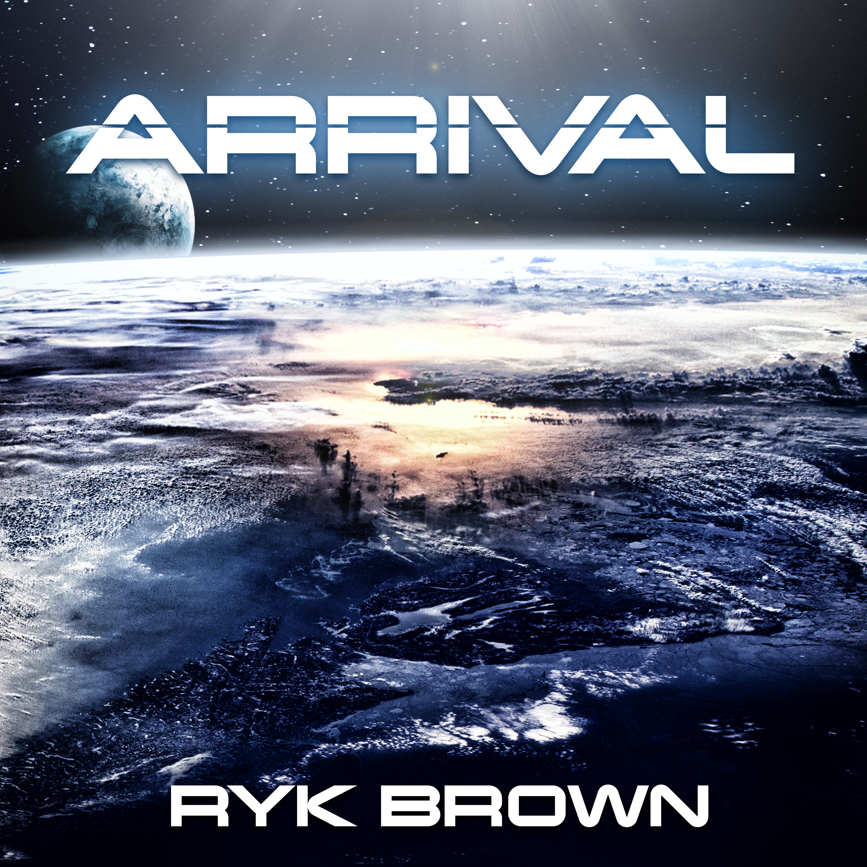 Printable Arrival Audiobook Cover Art