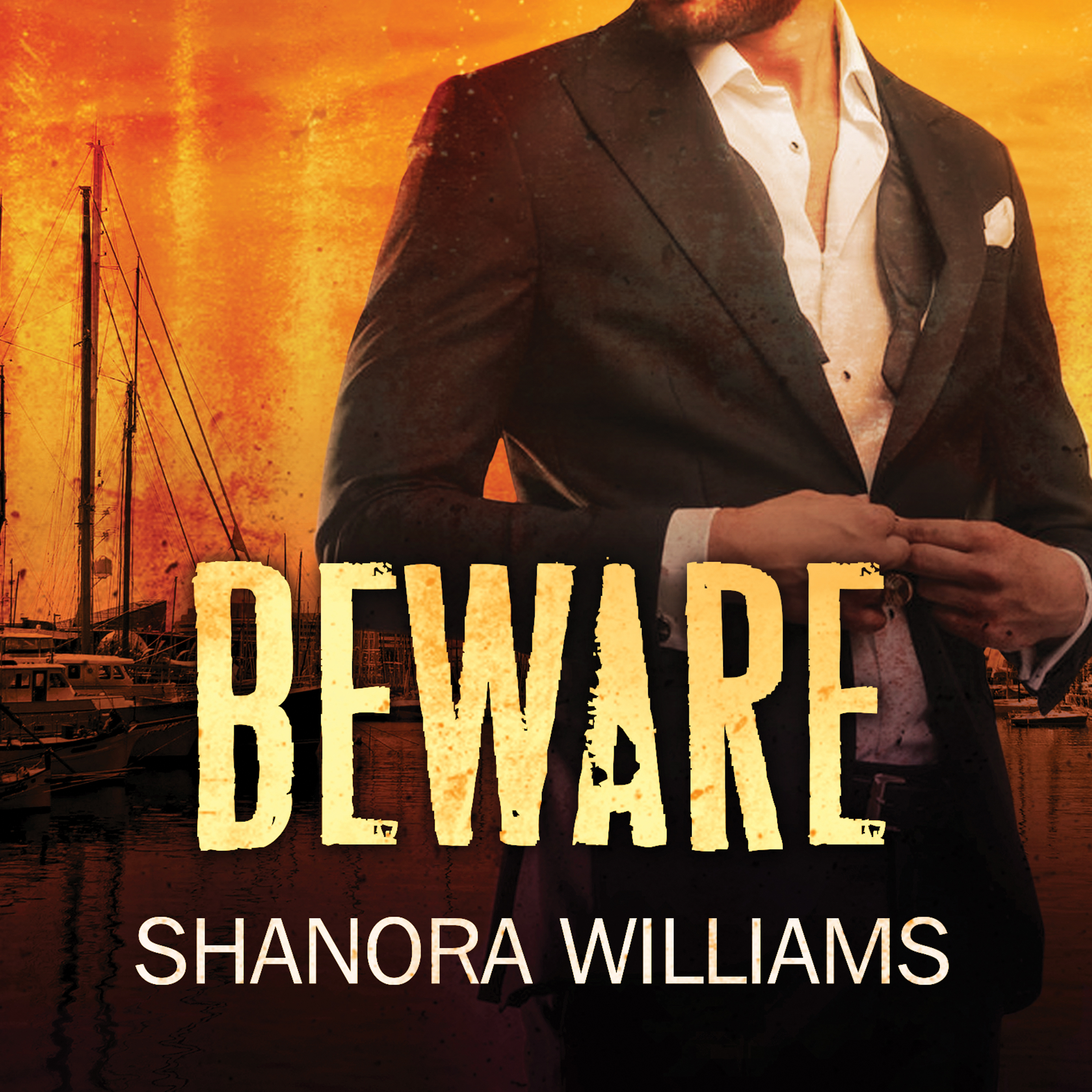 Printable Beware Audiobook Cover Art