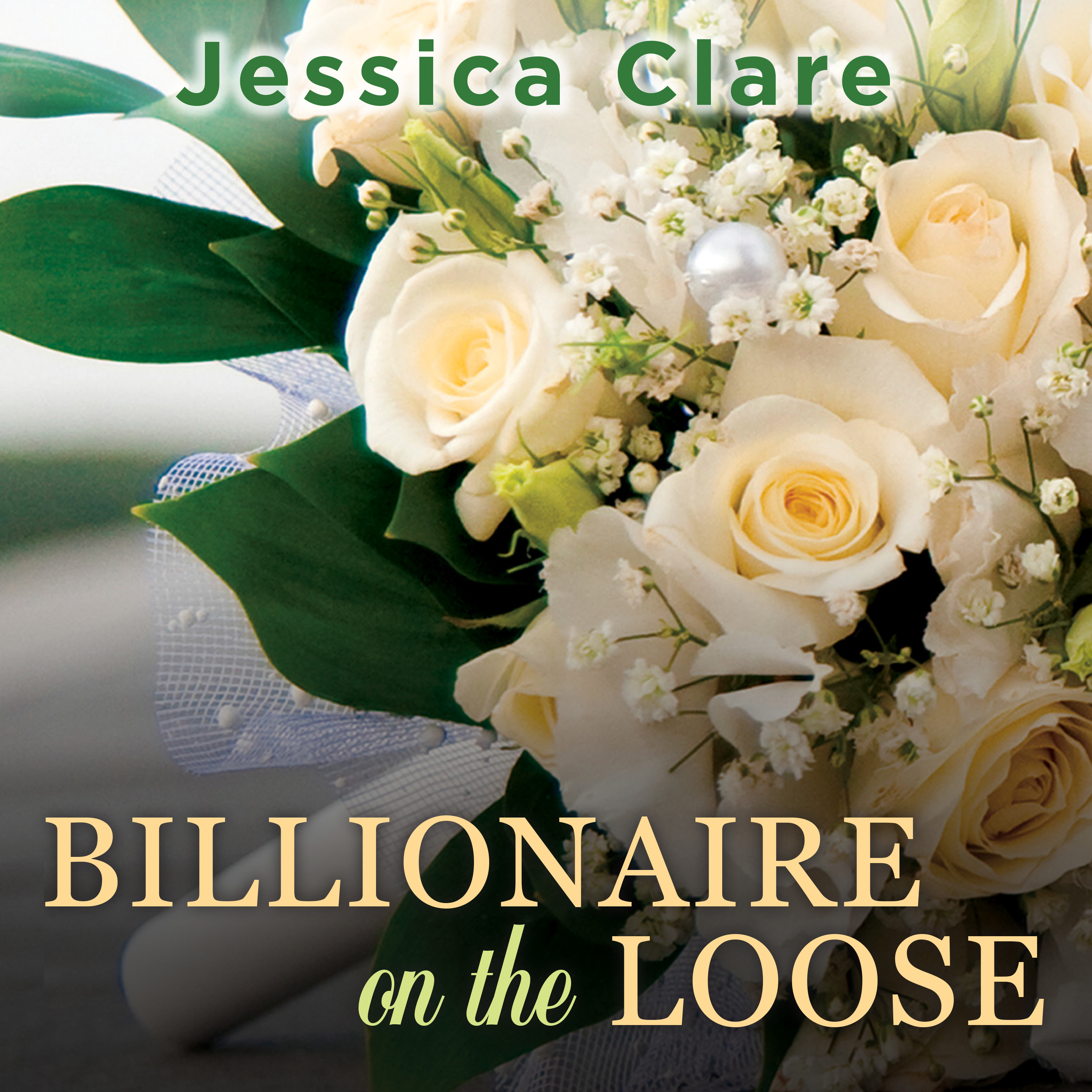 Printable Billionaire on the Loose Audiobook Cover Art