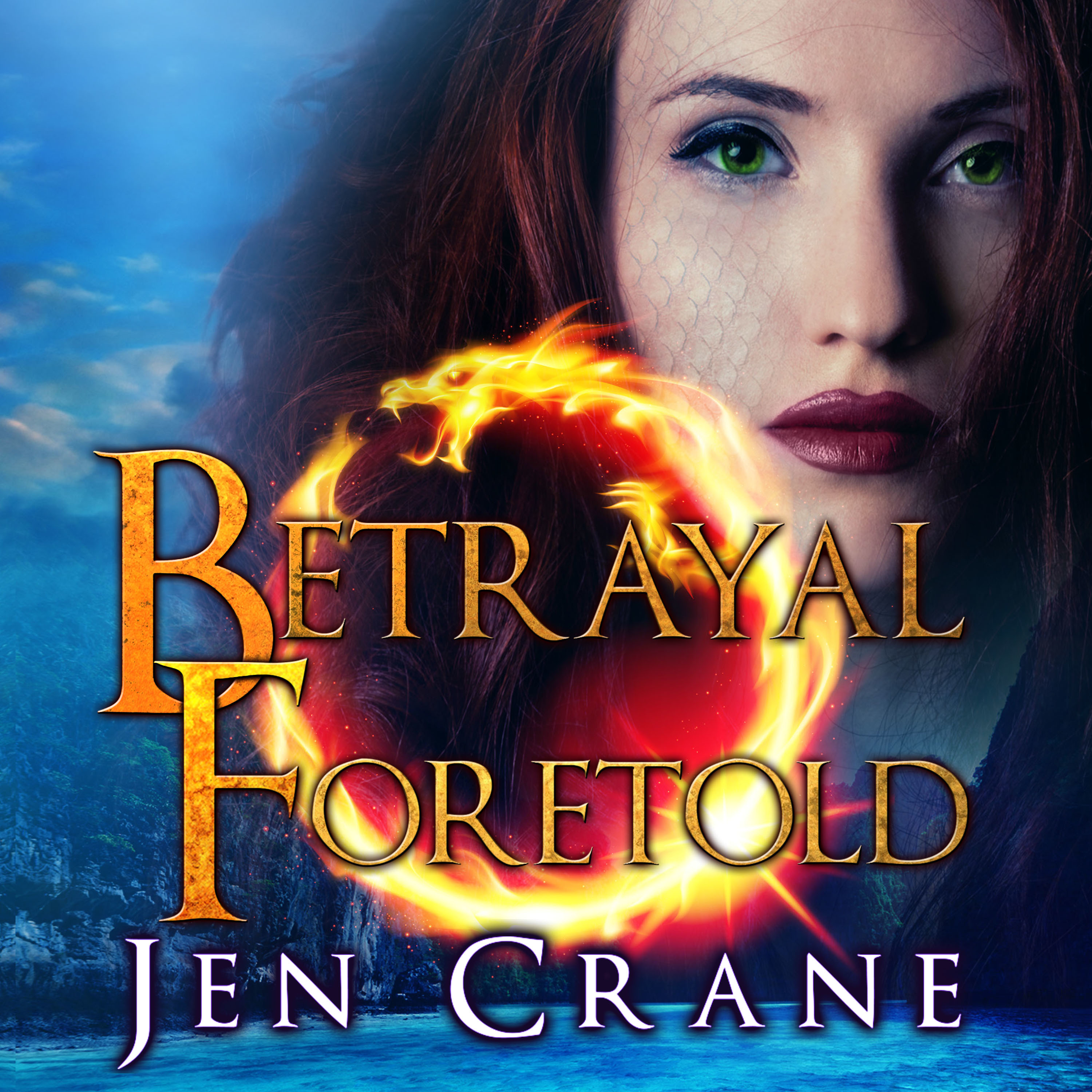 Printable Betrayal Foretold Audiobook Cover Art