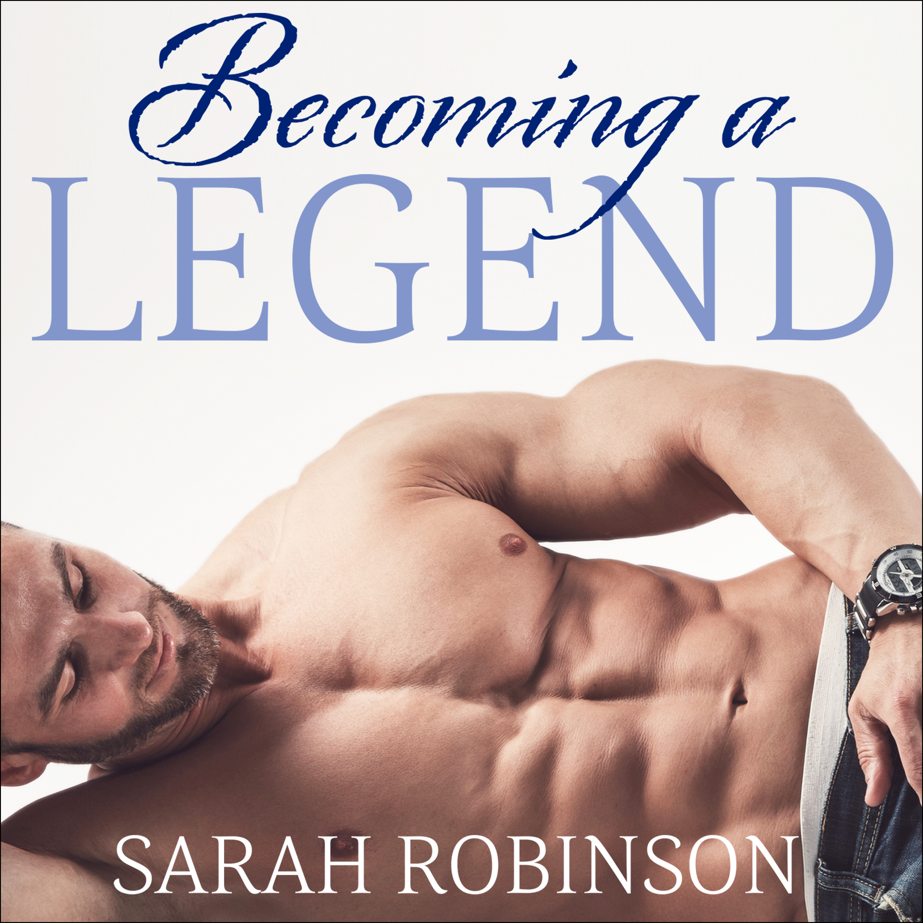 Printable Becoming a Legend Audiobook Cover Art