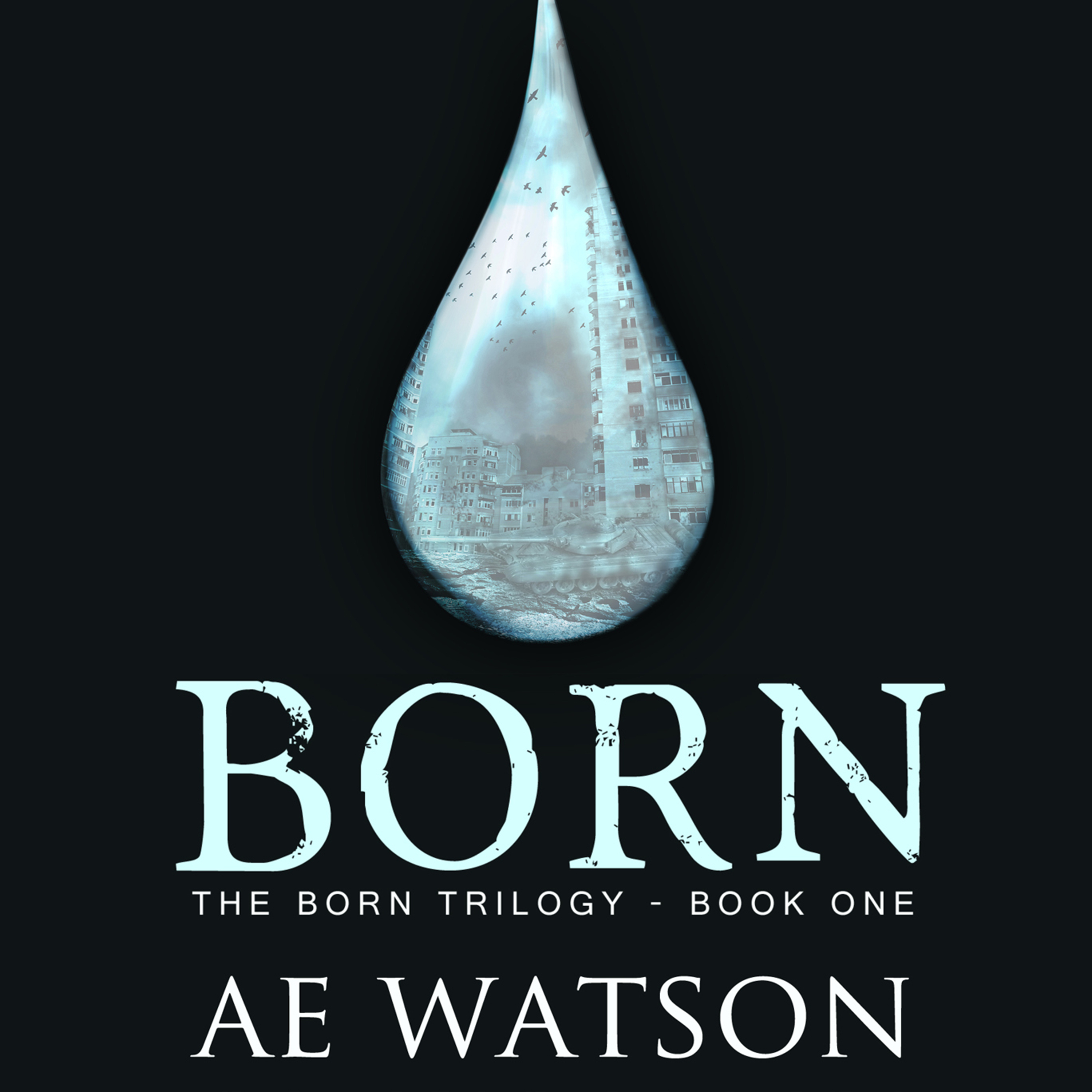 Printable Born Audiobook Cover Art