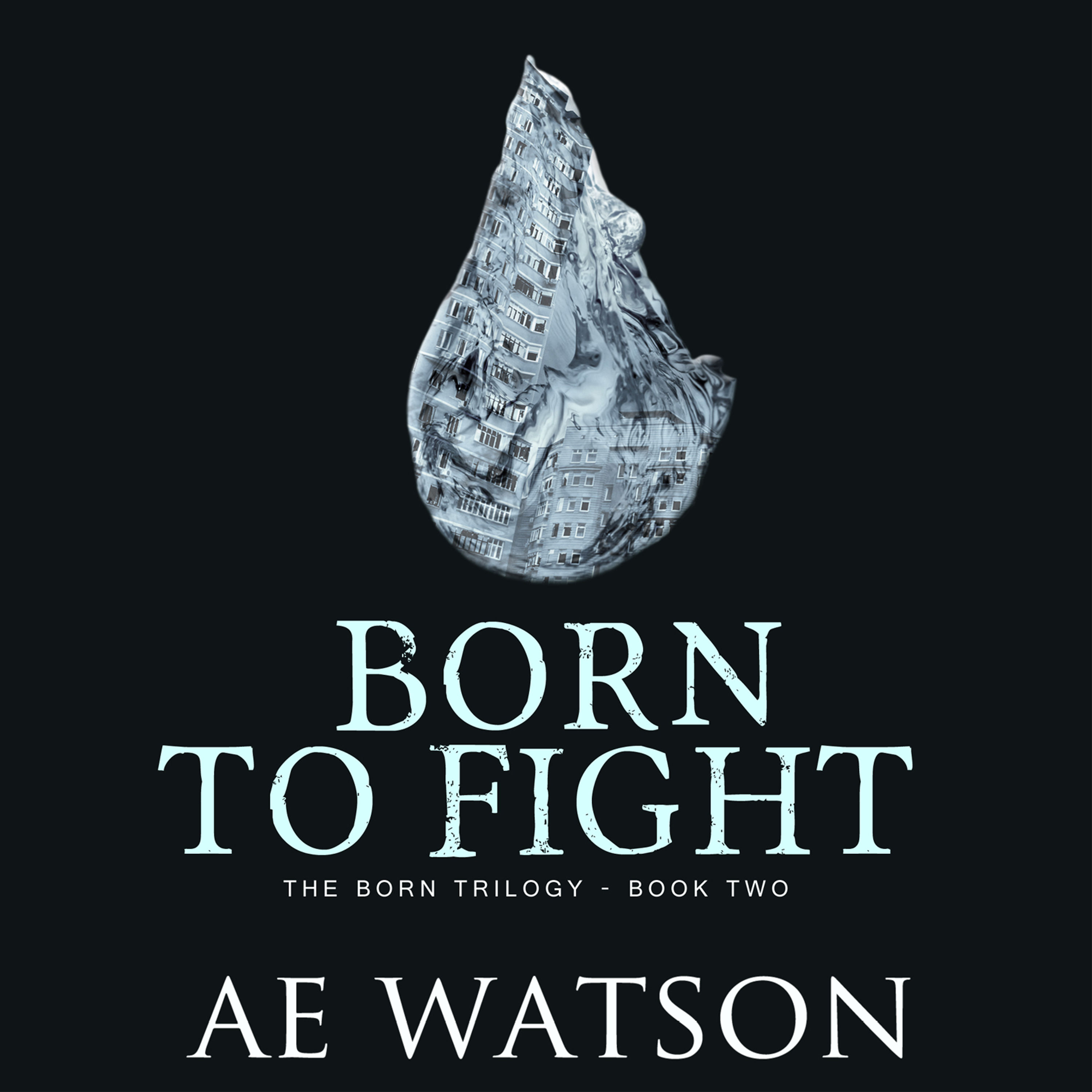 Printable Born to Fight Audiobook Cover Art