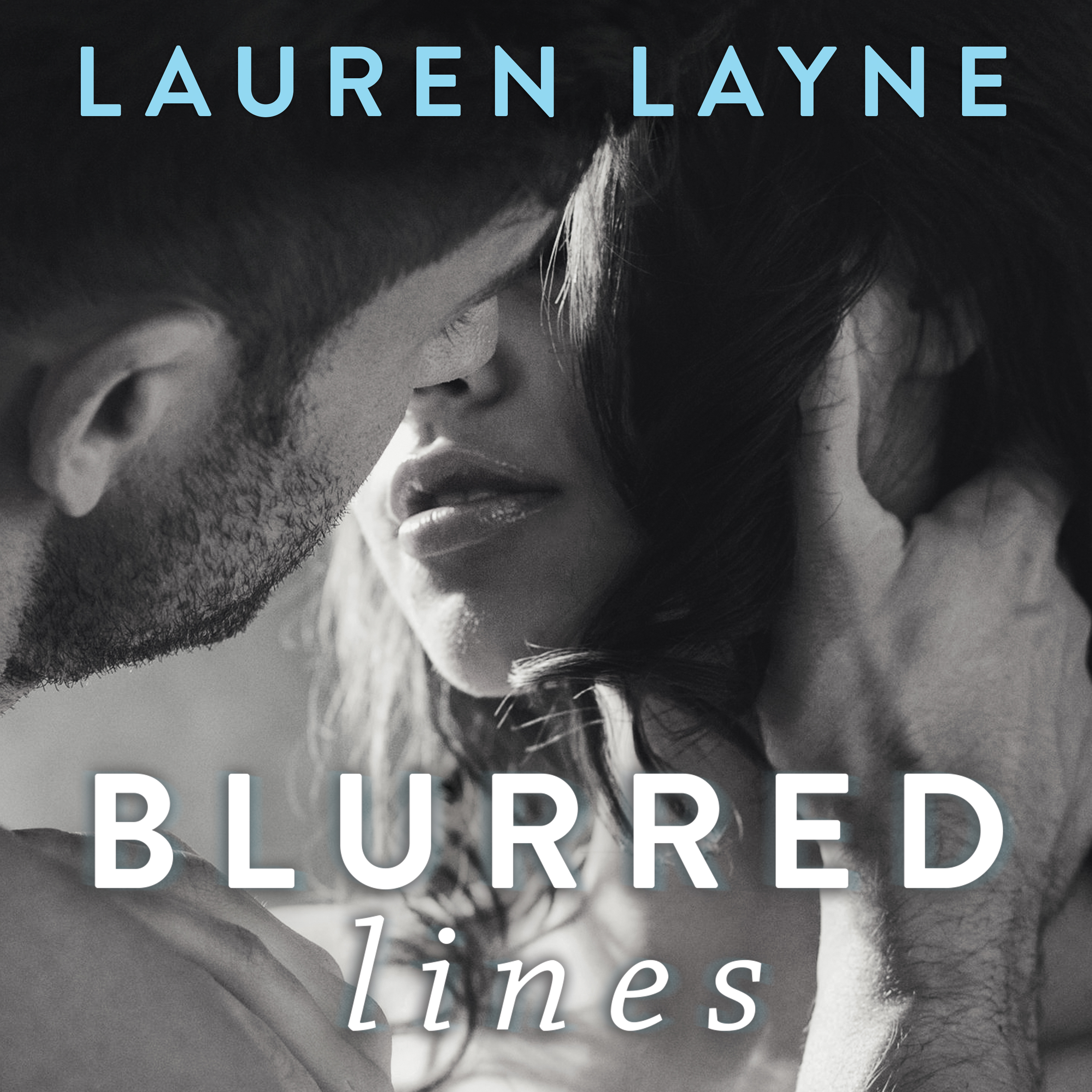 Printable Blurred Lines Audiobook Cover Art