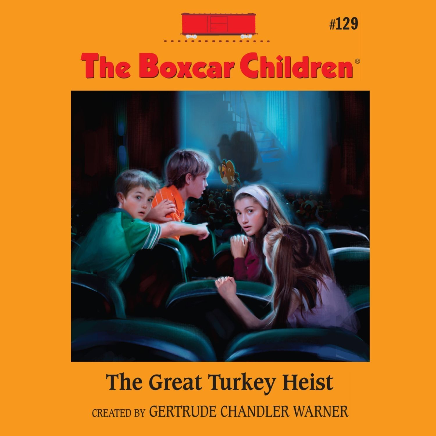 Printable The Great Turkey Heist Audiobook Cover Art