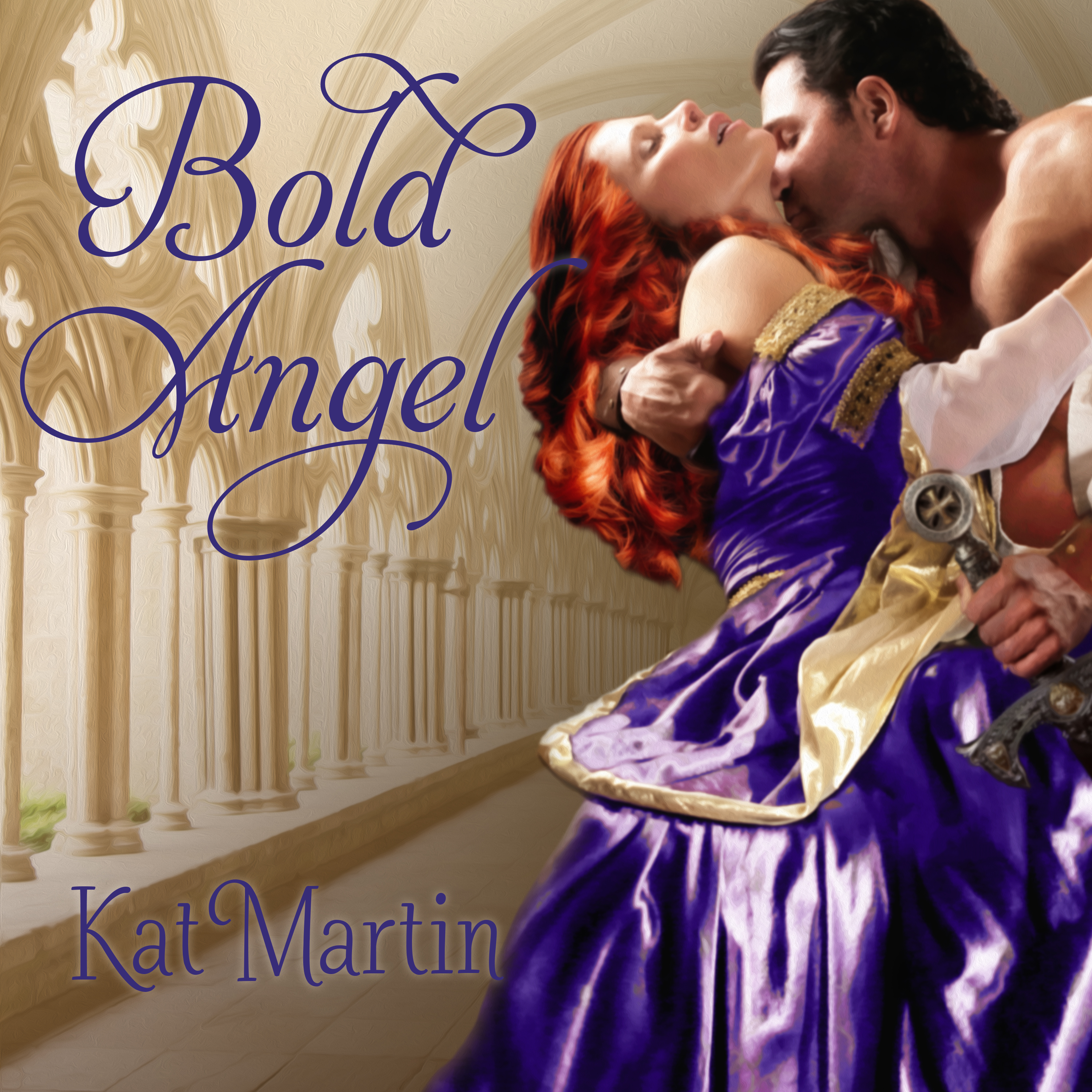 Printable Bold Angel Audiobook Cover Art