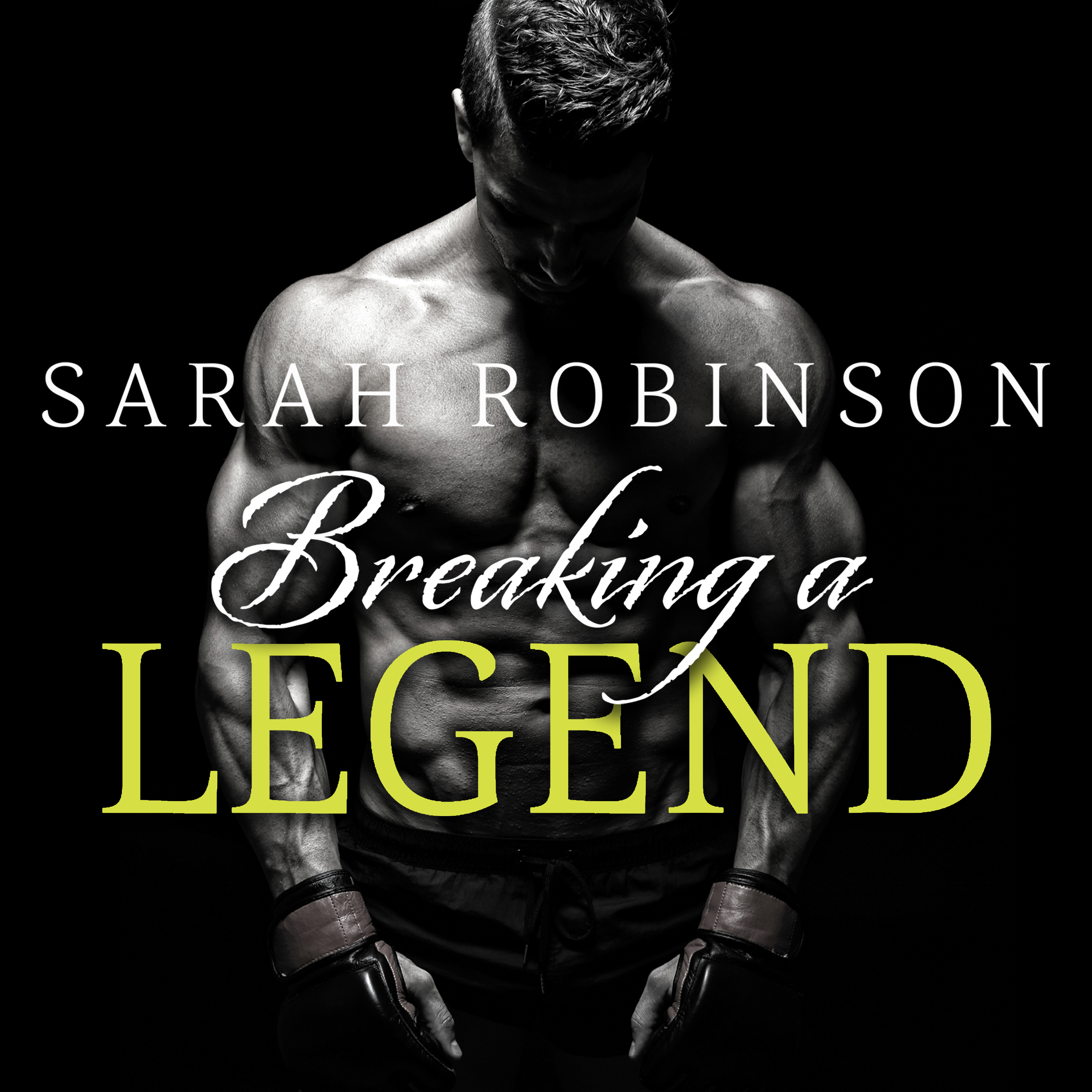 Printable Breaking a Legend Audiobook Cover Art
