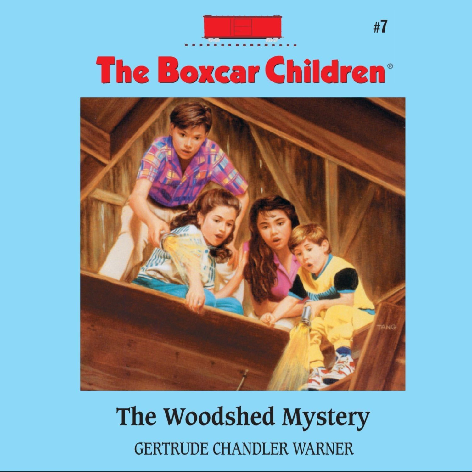 Printable The Woodshed Mystery Audiobook Cover Art