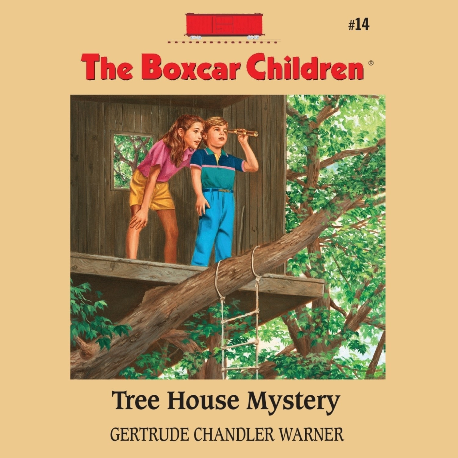 Printable Tree House Mystery Audiobook Cover Art
