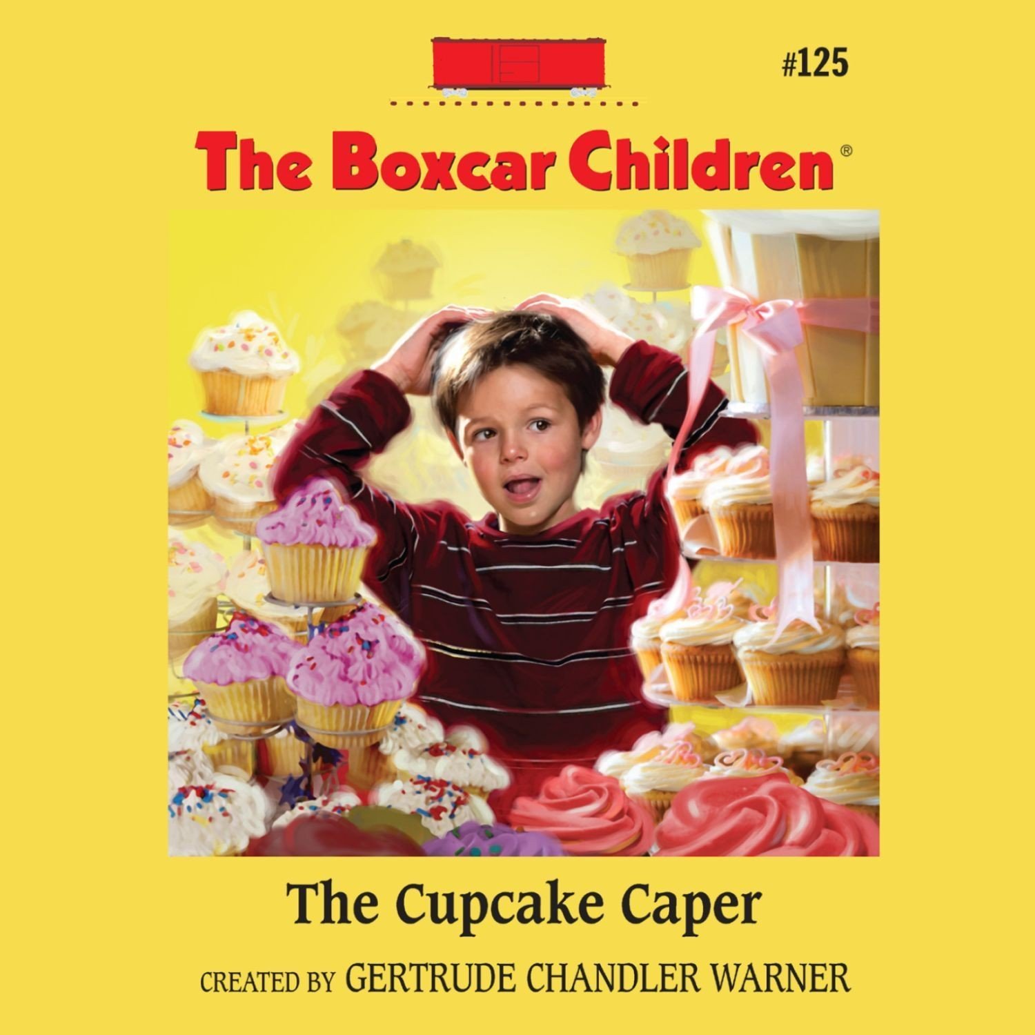 Boxcar Children Book Cover ~ The cupcake caper audiobook listen instantly