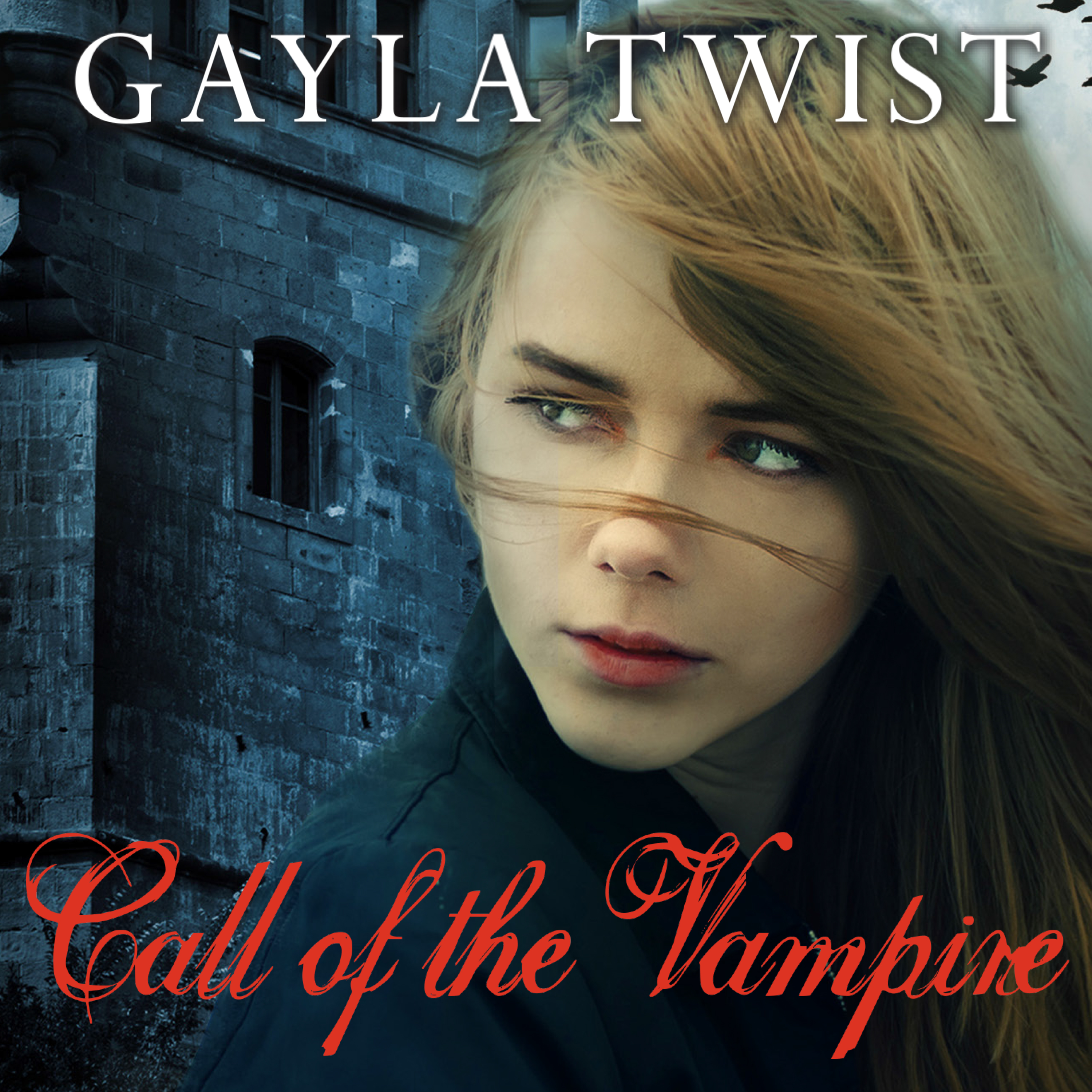Printable Call of the Vampire Audiobook Cover Art