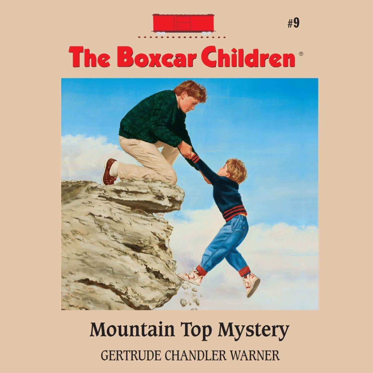 Printable Mountain Top Mystery Audiobook Cover Art