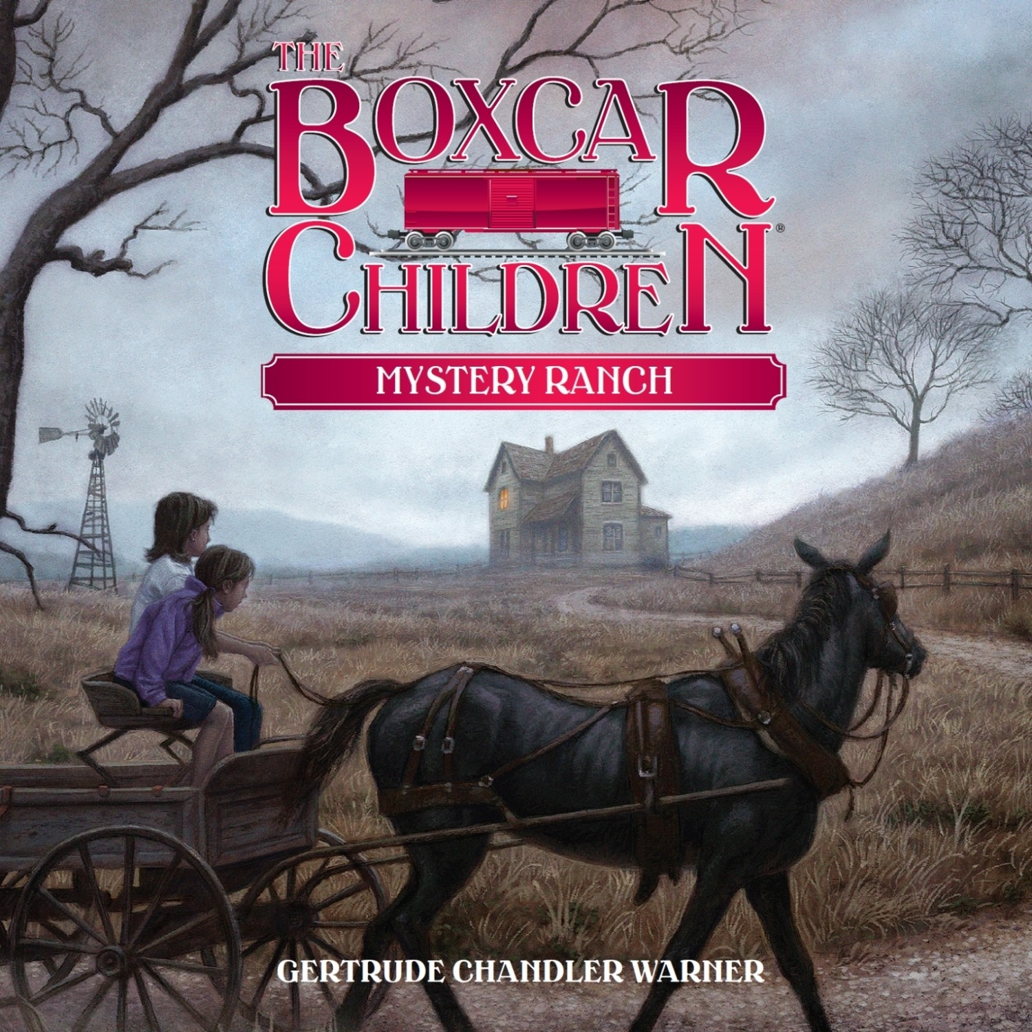 Printable Mystery Ranch Audiobook Cover Art