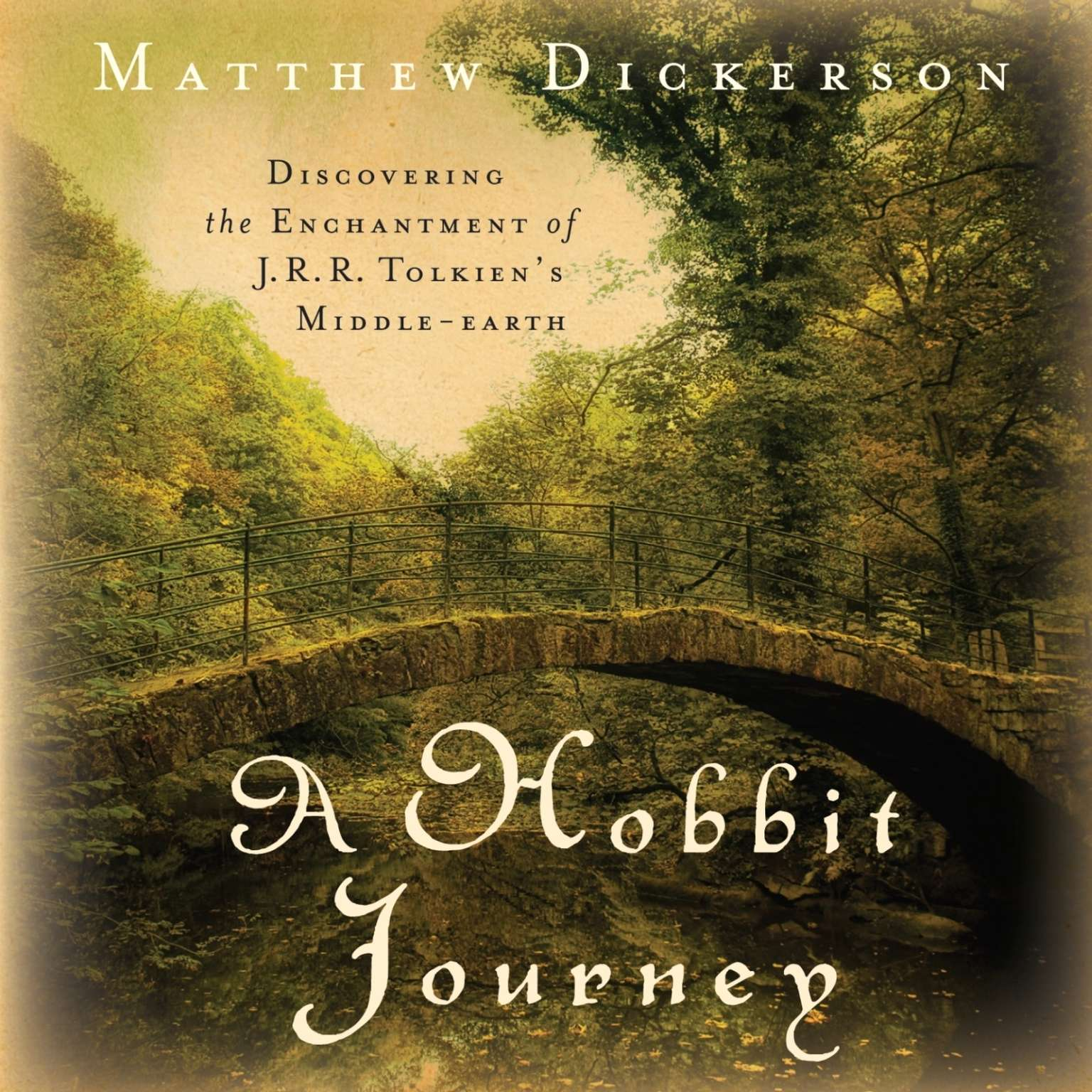 Printable A Hobbit Journey: Discovering the Enchantment of J. R. R. Tolkien's Middle-earth Audiobook Cover Art