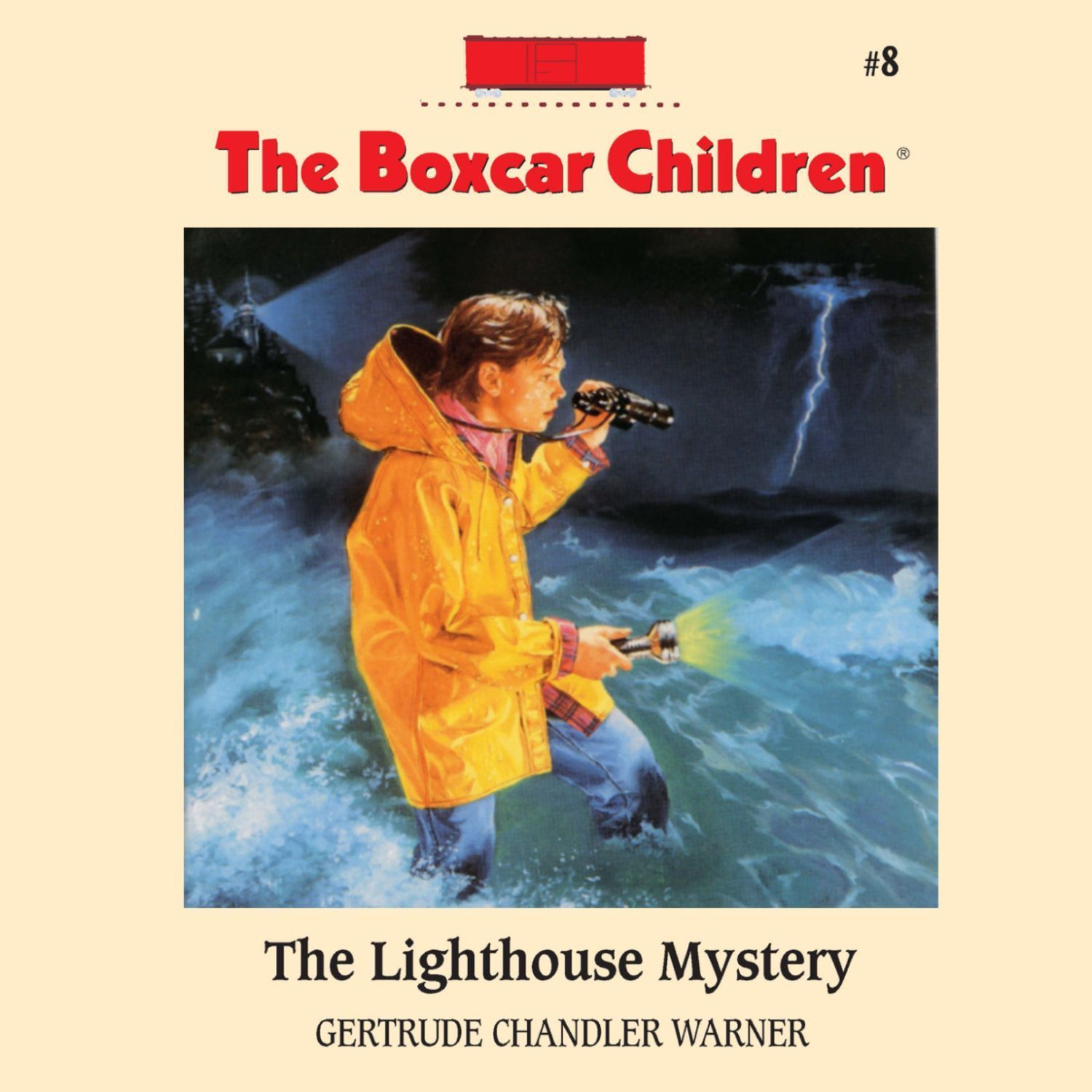 Printable The Lighthouse Mystery Audiobook Cover Art