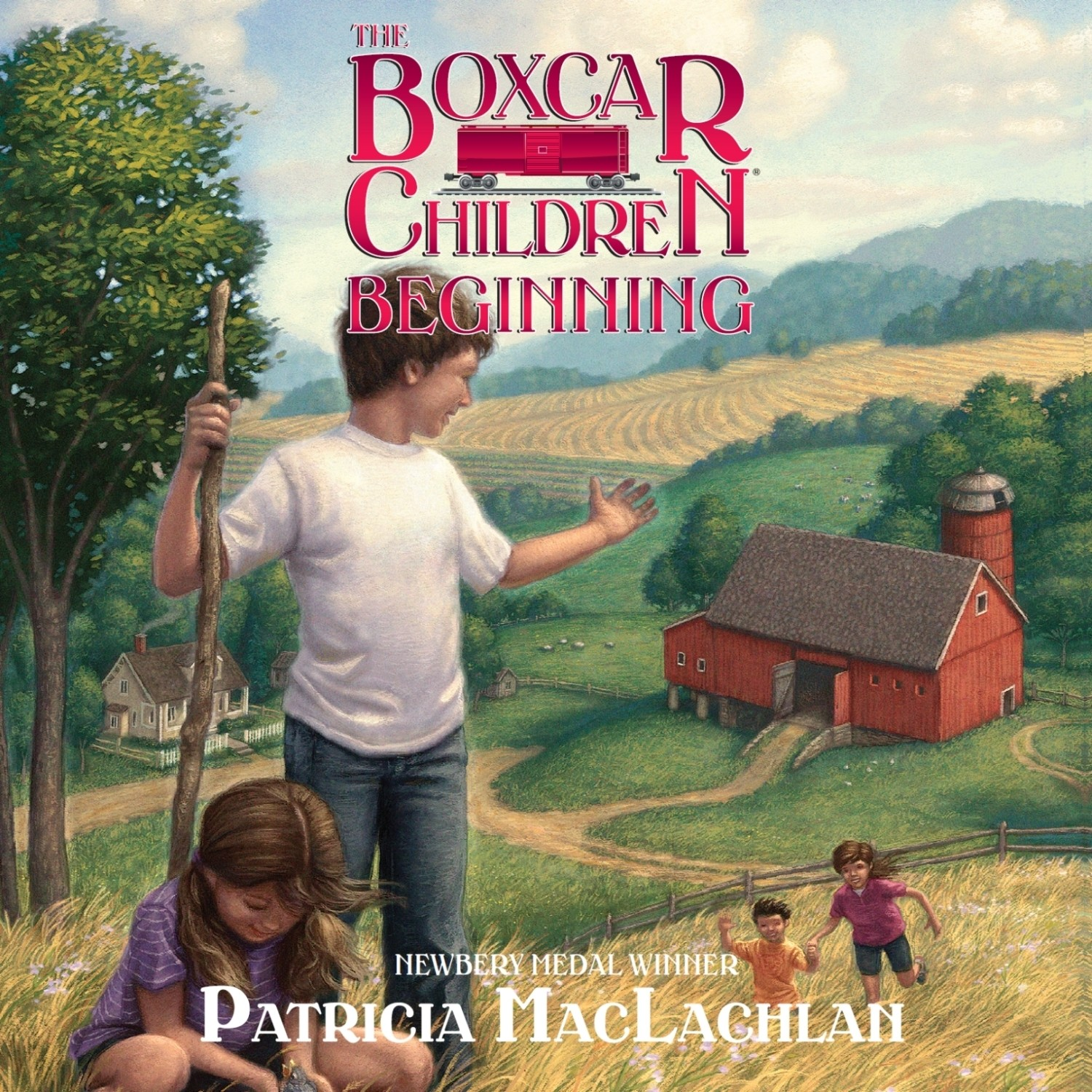 Printable The Boxcar Children Beginning: The Aldens of Fair Meadow Farm Audiobook Cover Art