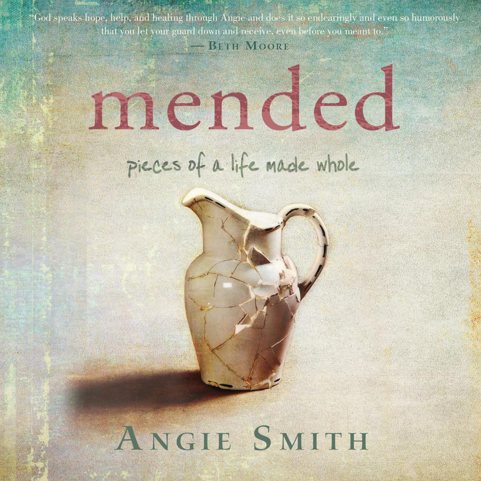 Printable Mended: Pieces of a Life Made Whole Audiobook Cover Art