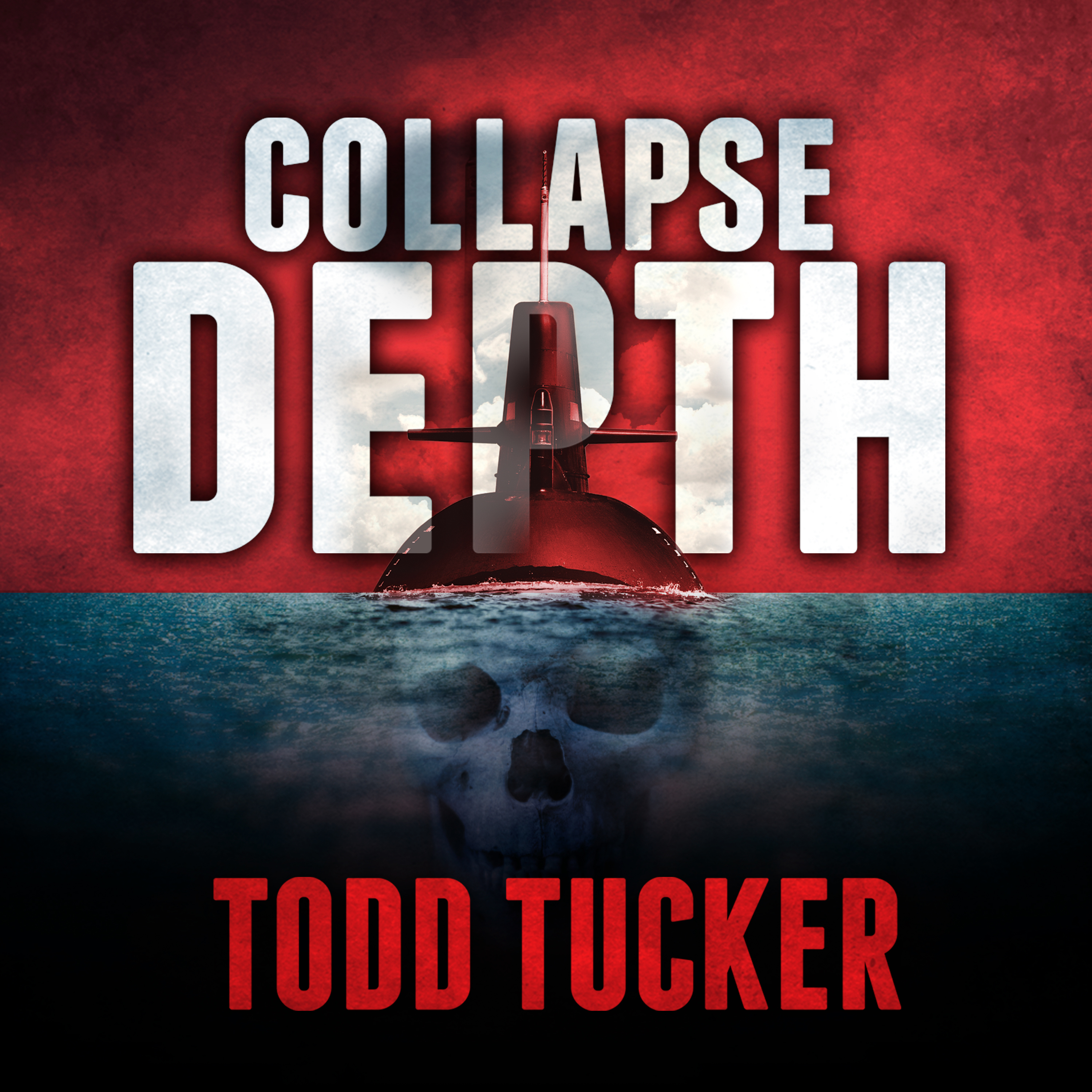 Printable Collapse Depth Audiobook Cover Art