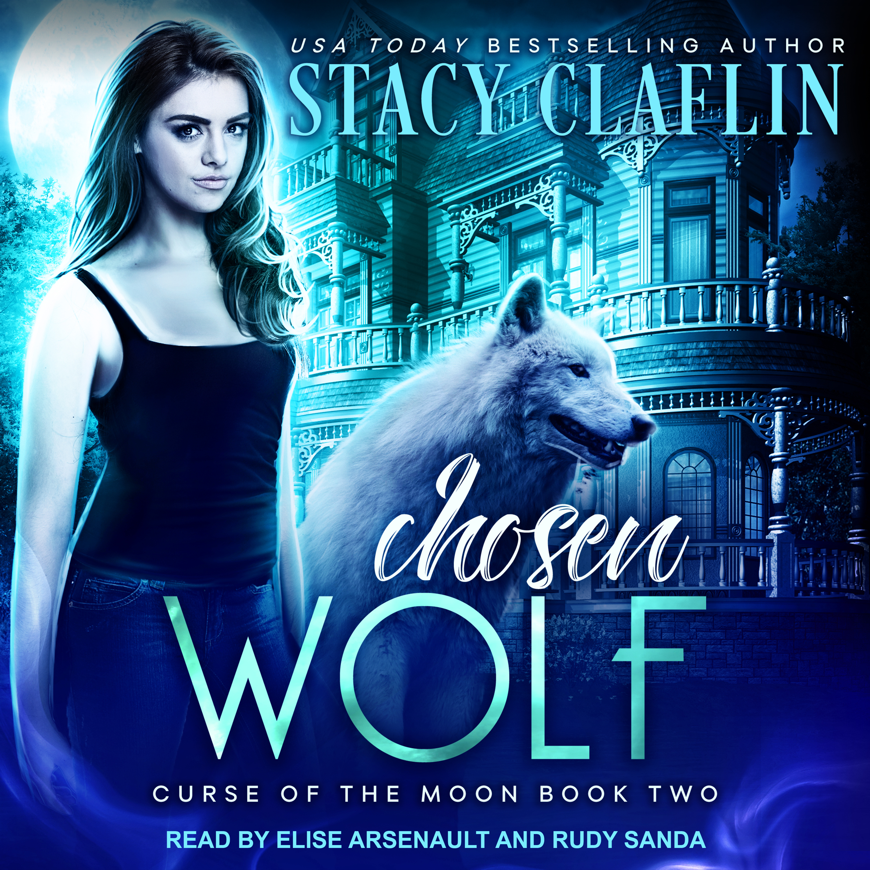 Printable Chosen Wolf Audiobook Cover Art