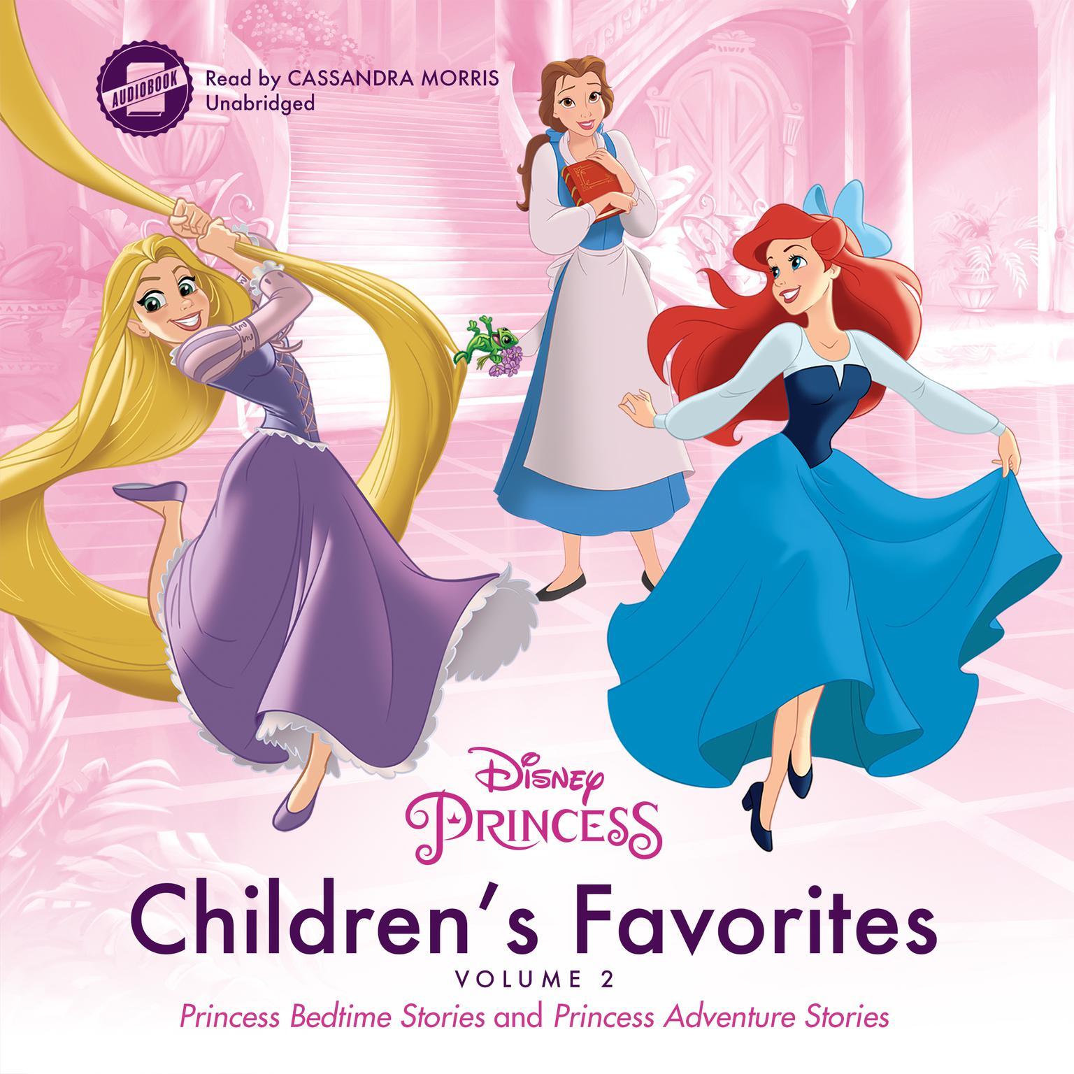 Children's Favorites, Vol. 2: Princess Bedtime Stories and Princess Adventure Stories Audiobook, by Disney Press