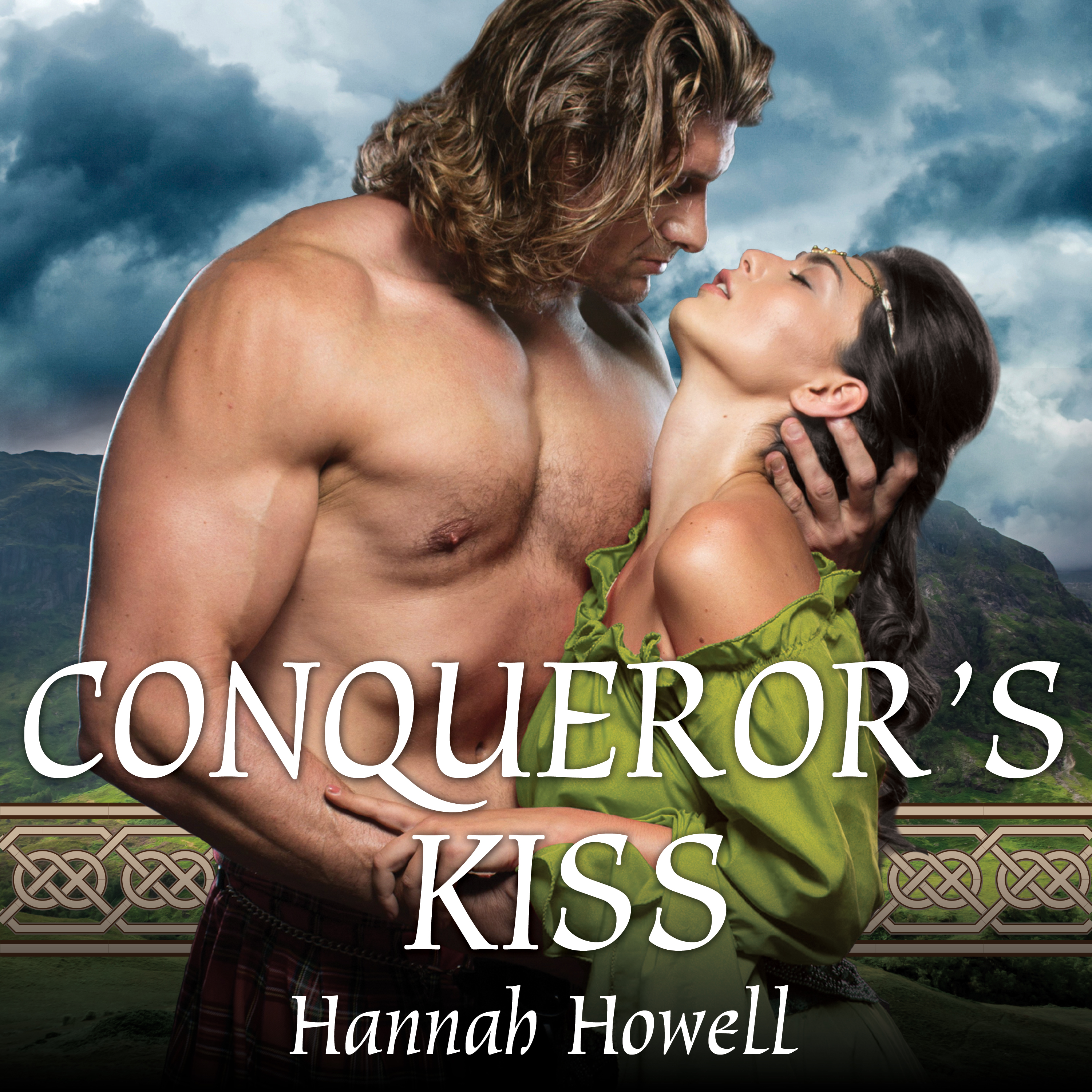 Printable Conqueror's Kiss Audiobook Cover Art