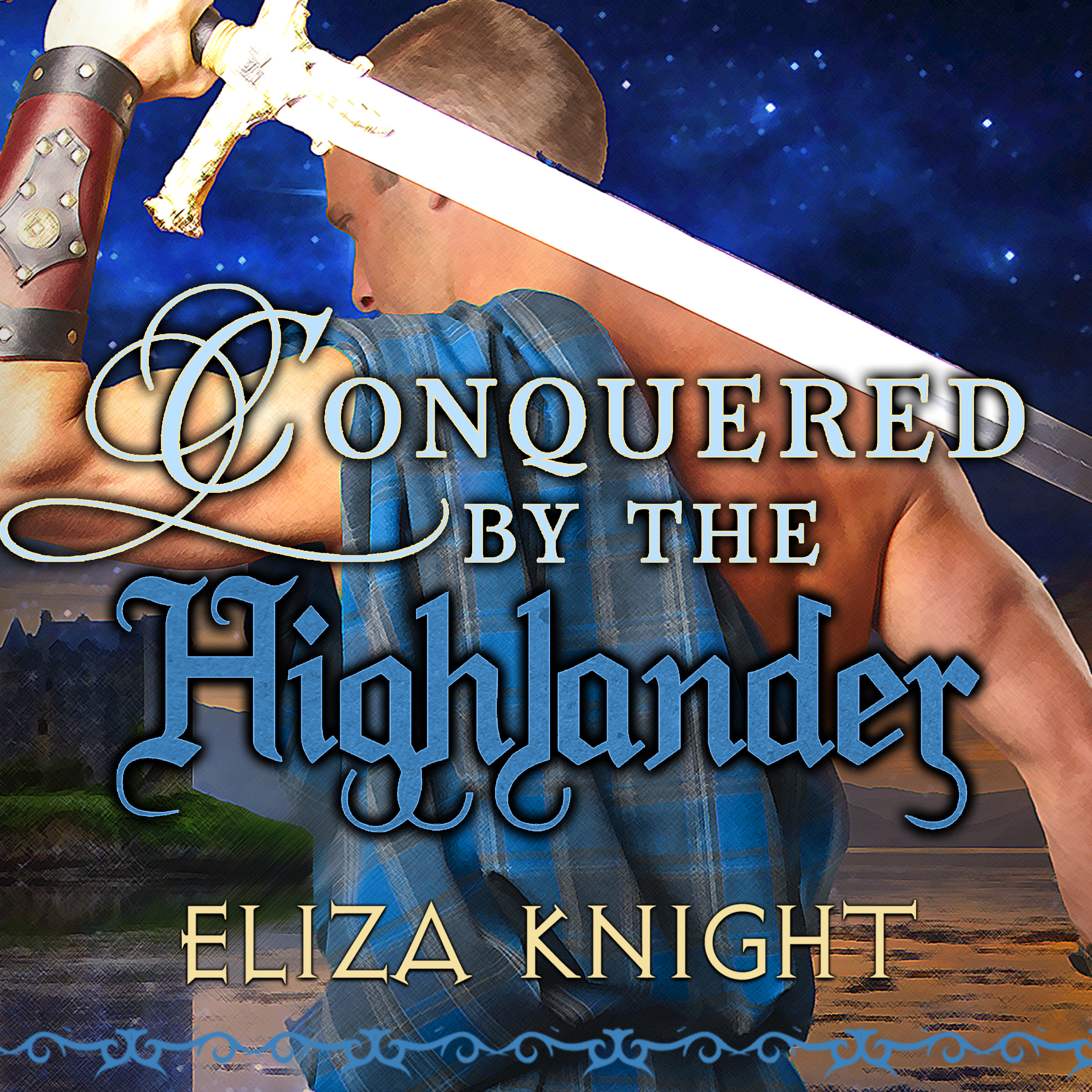Printable Conquered by the Highlander Audiobook Cover Art