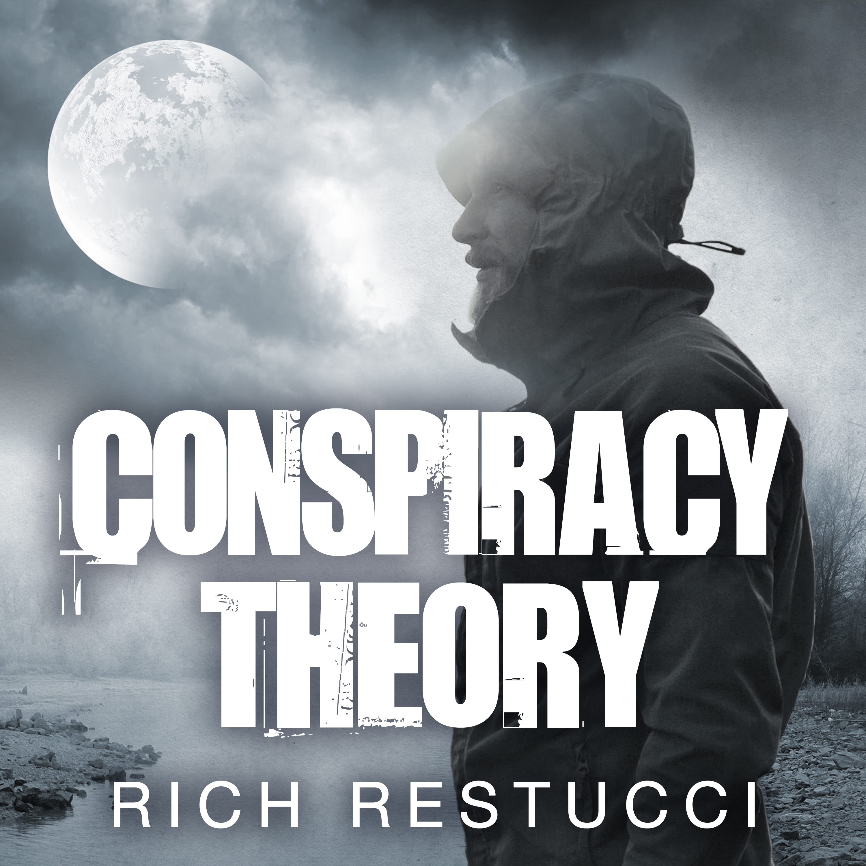Printable Conspiracy Theory Audiobook Cover Art