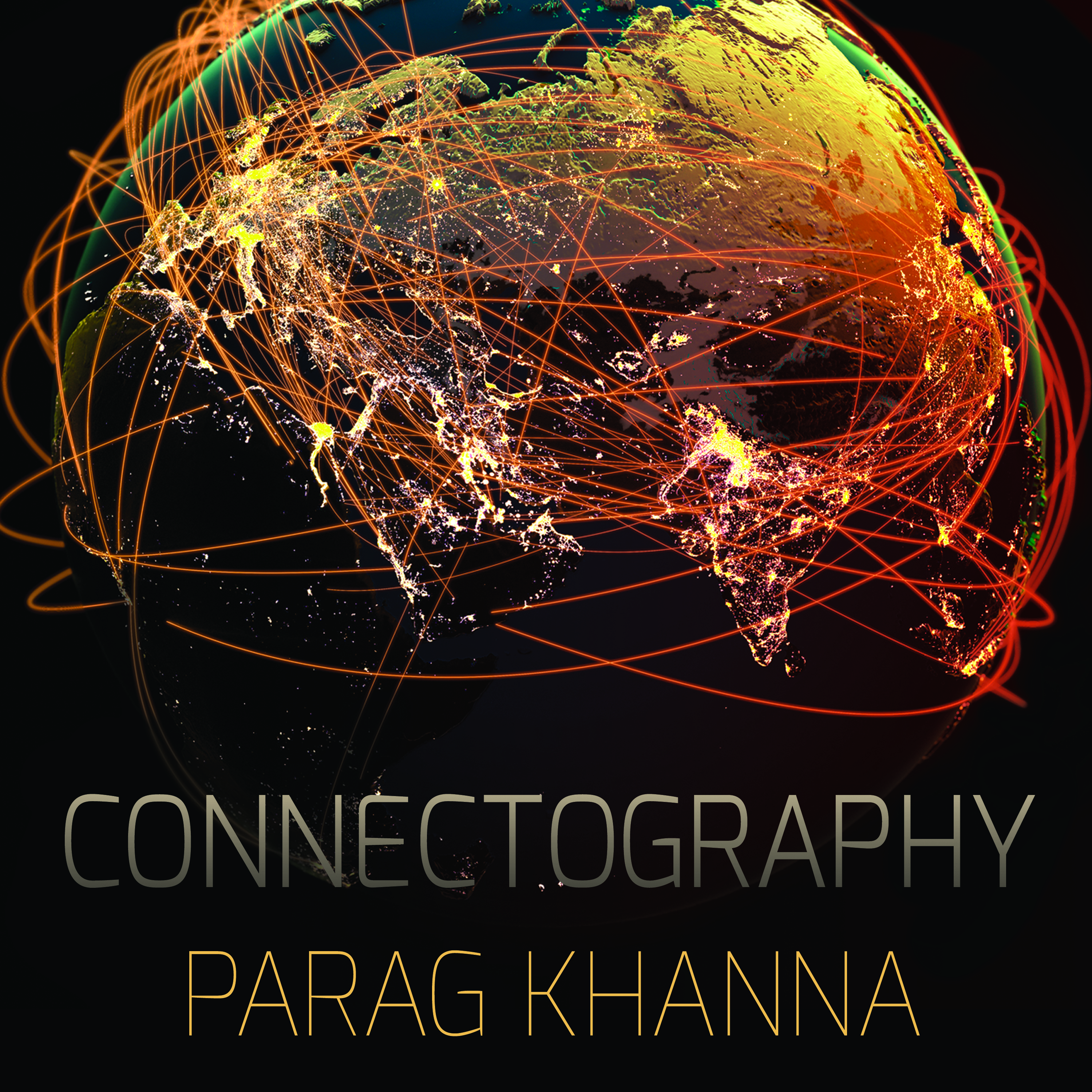 Printable Connectography: Mapping the Future of Global Civilization Audiobook Cover Art