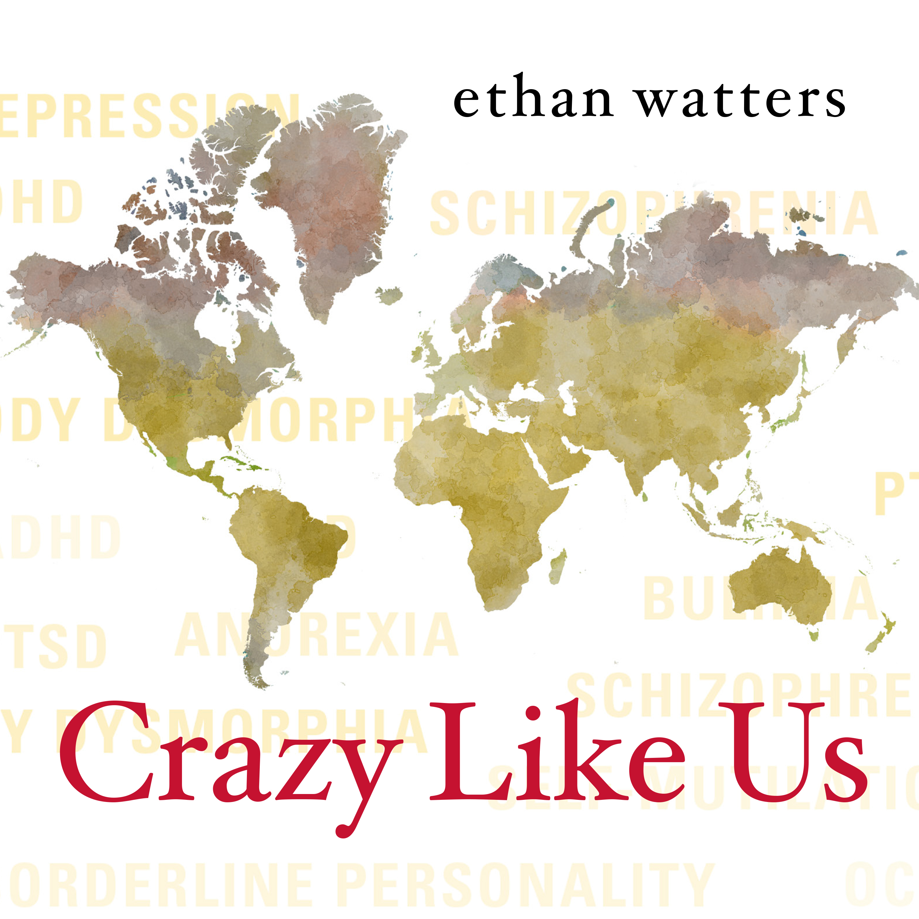Printable Crazy Like Us: The Globalization of the American Psyche Audiobook Cover Art