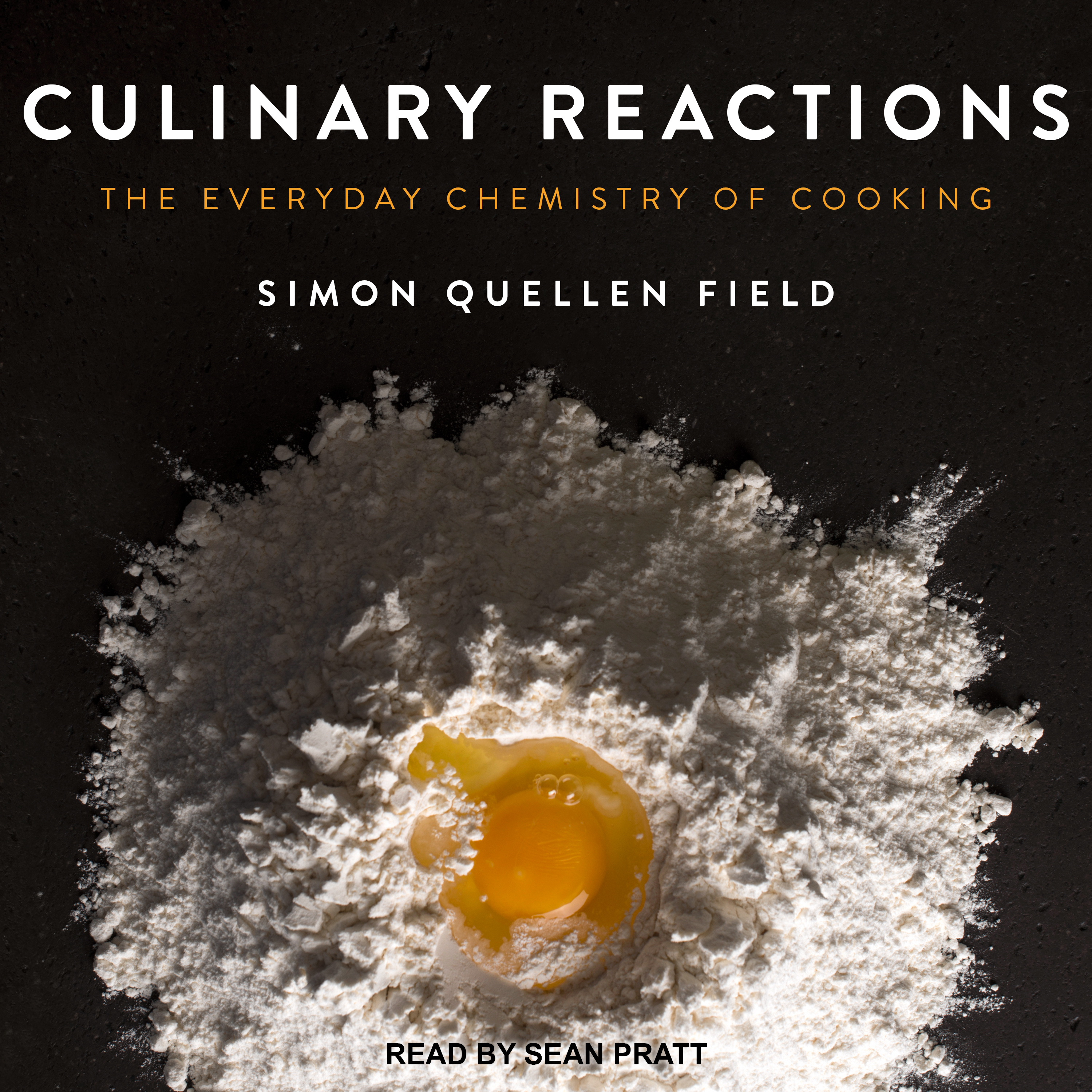 Printable Culinary Reactions: The Everyday Chemistry of Cooking Audiobook Cover Art