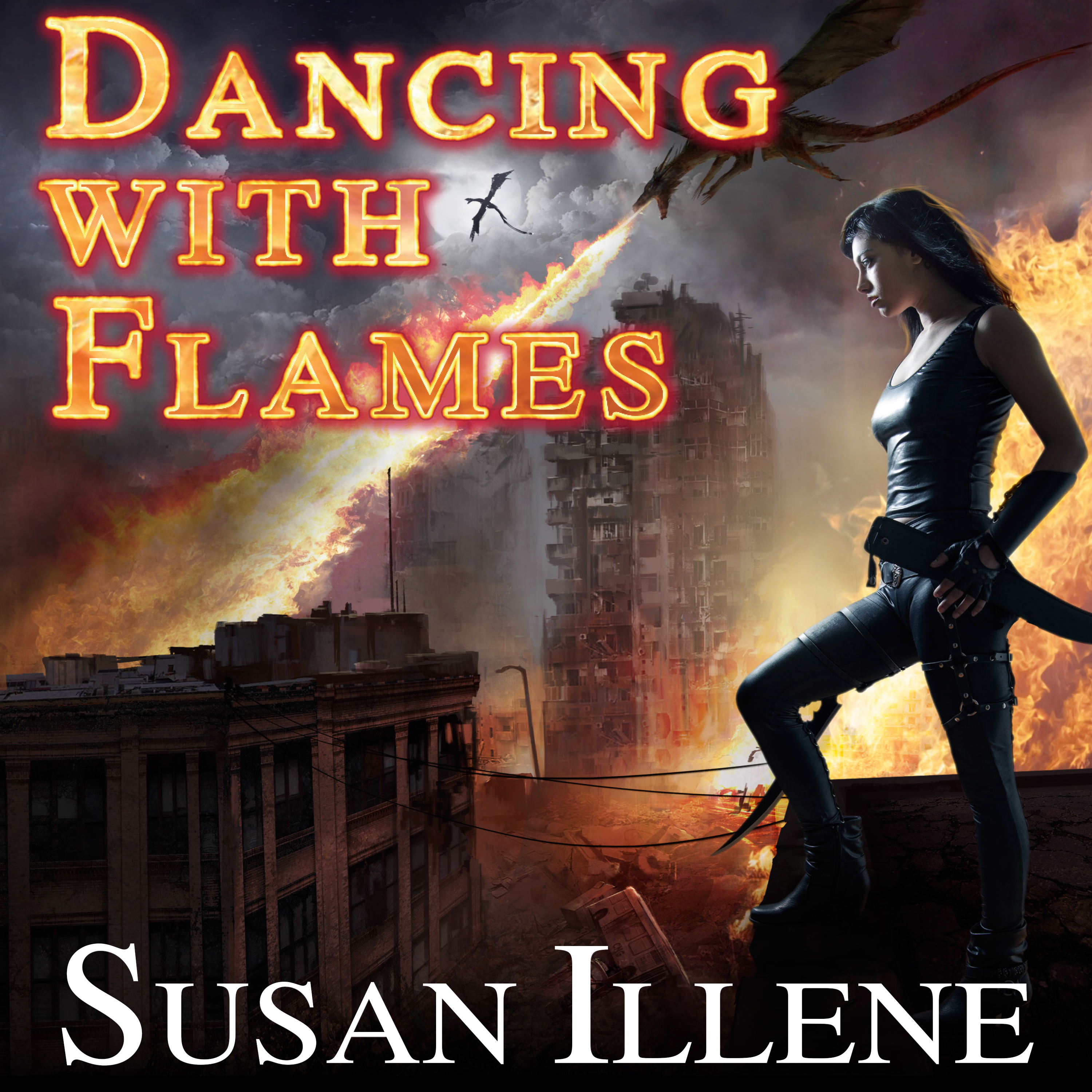 Printable Dancing with Flames  Audiobook Cover Art