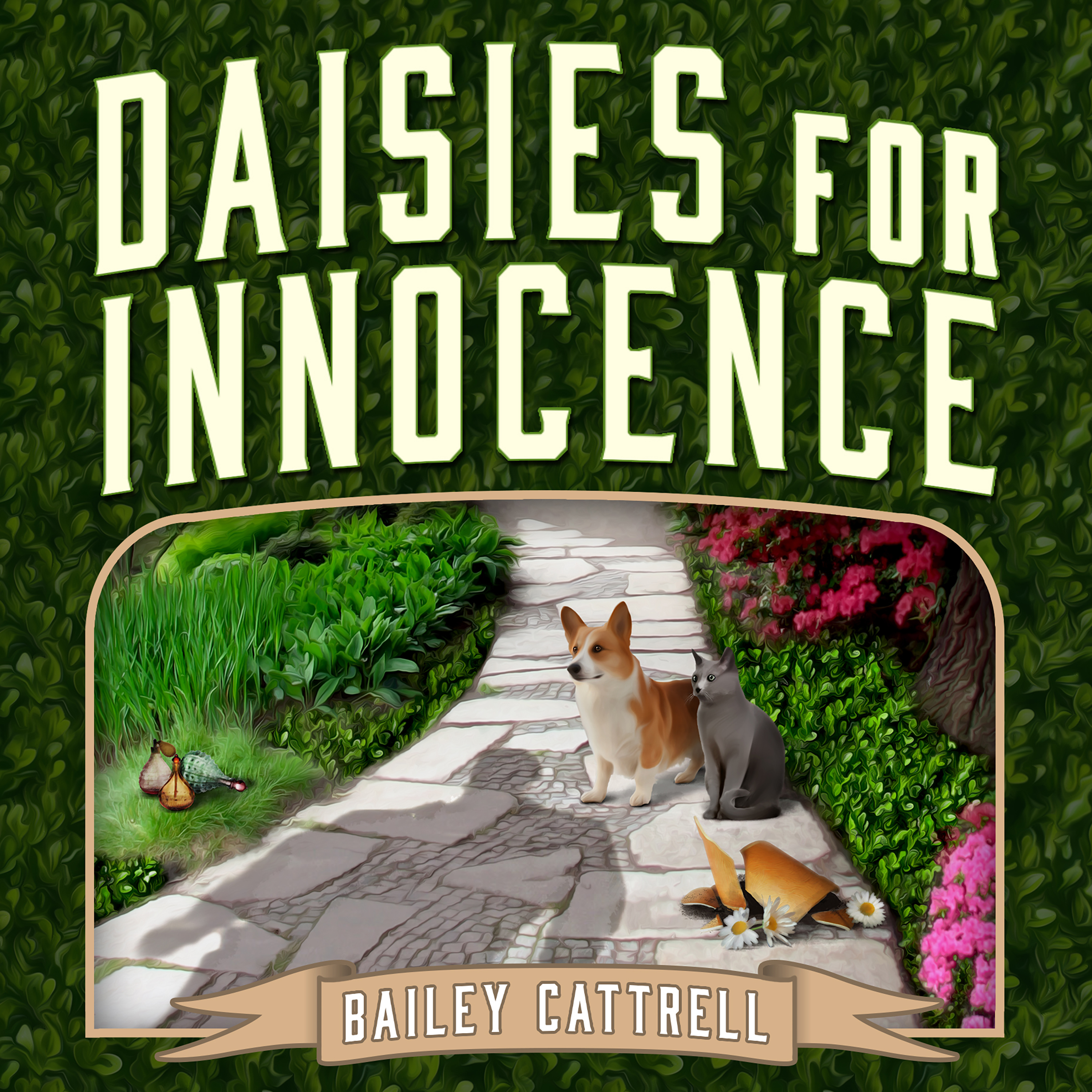 Printable Daisies For Innocence Audiobook Cover Art