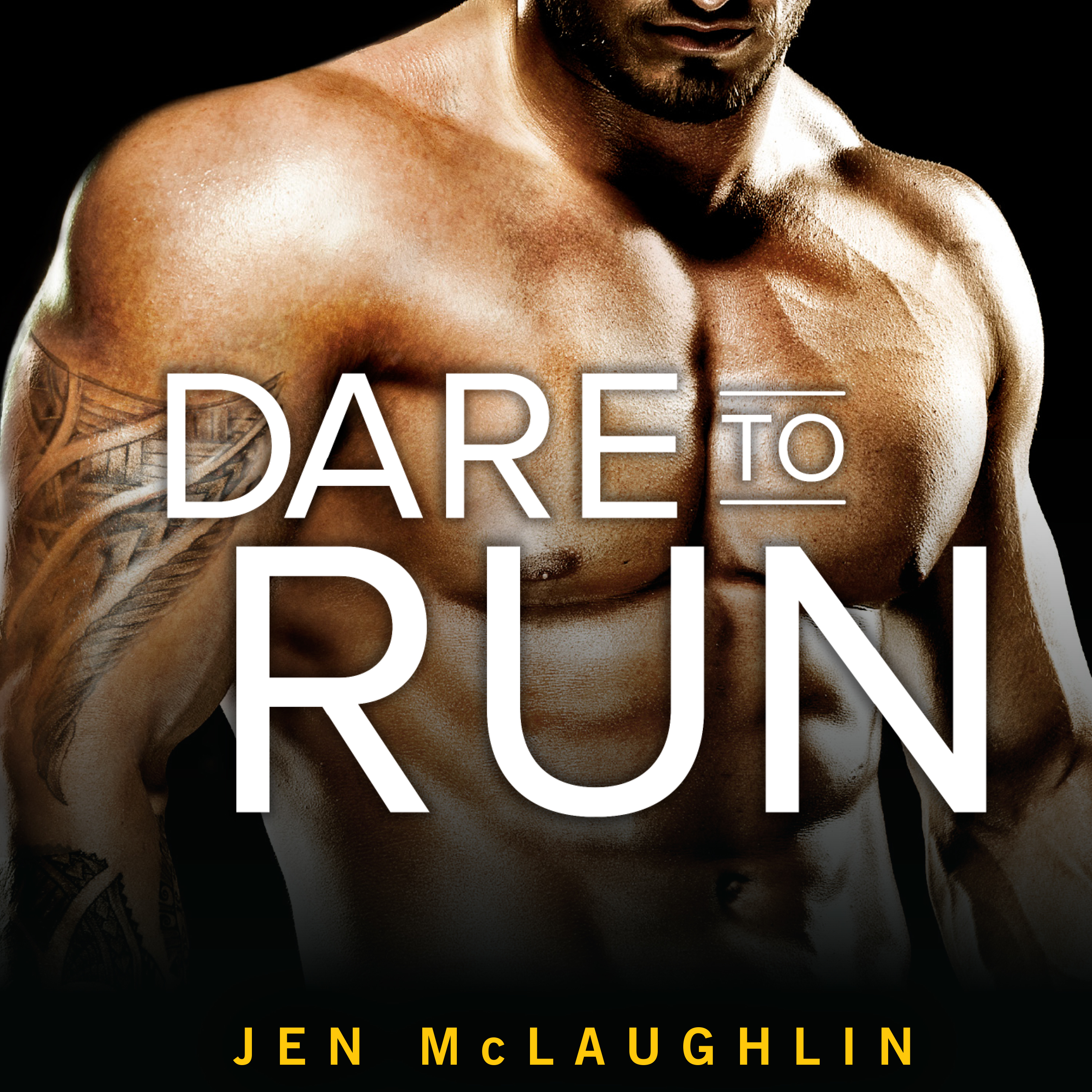 Printable Dare to Run Audiobook Cover Art
