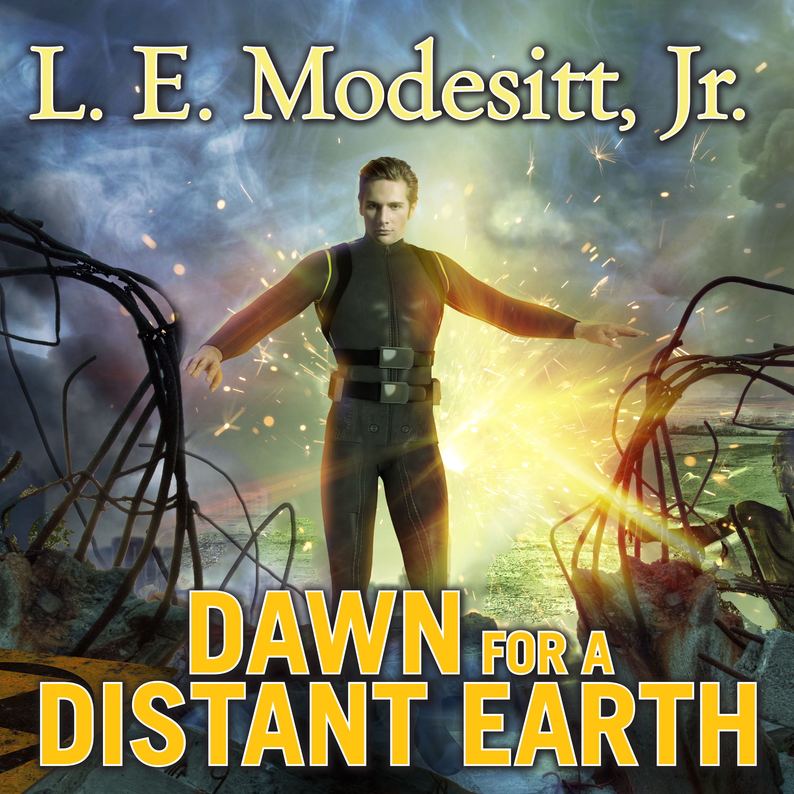 Printable Dawn for a Distant Earth Audiobook Cover Art