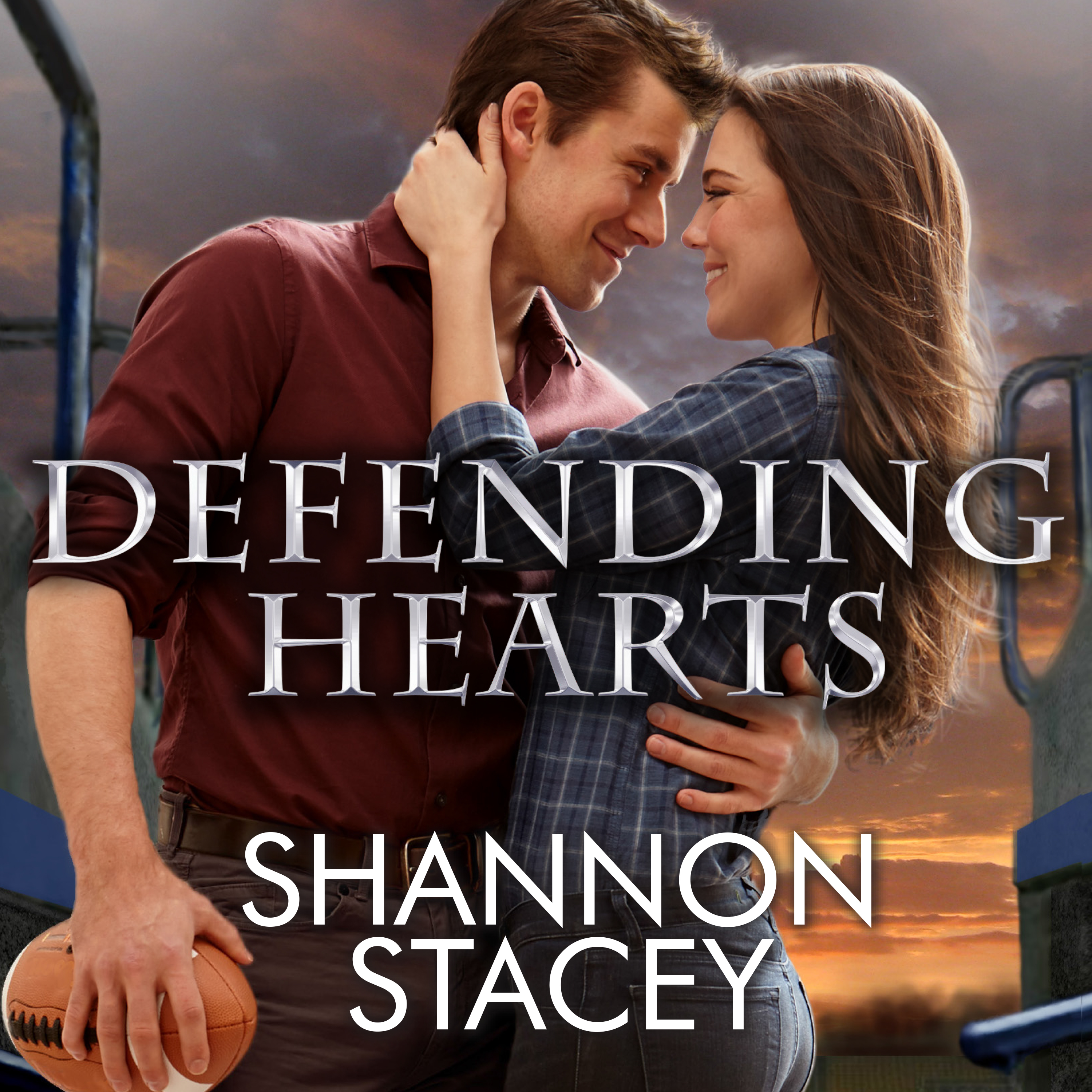 Printable Defending Hearts Audiobook Cover Art