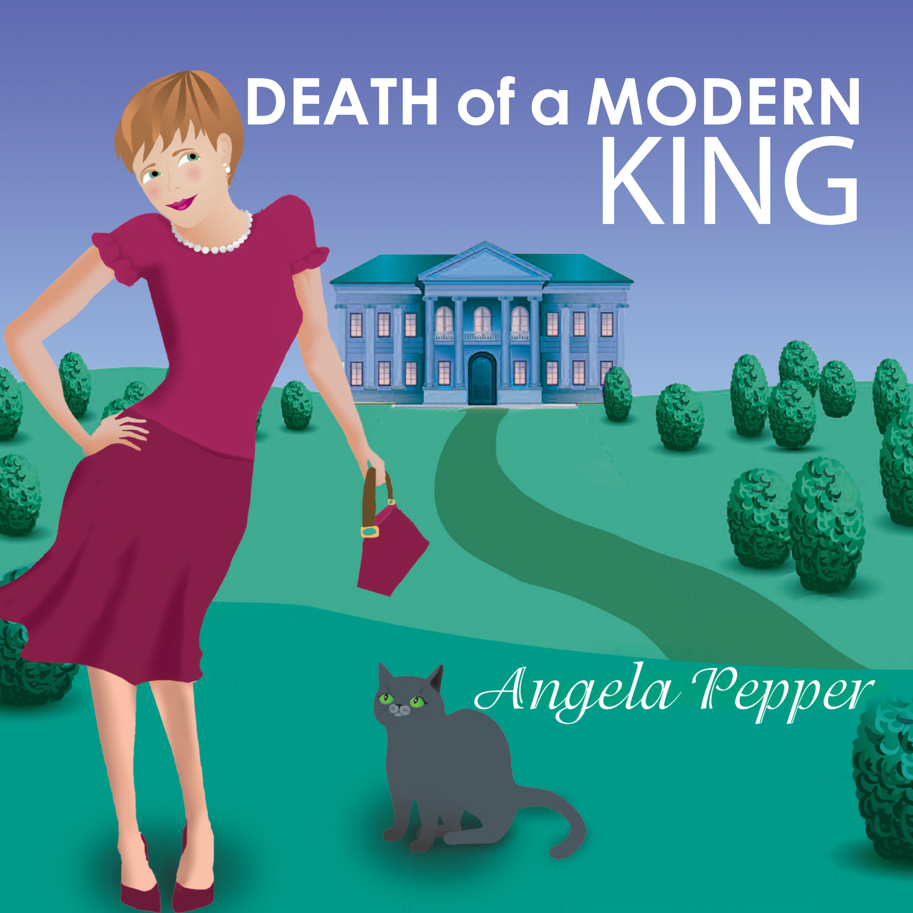 Printable Death of a Modern King Audiobook Cover Art