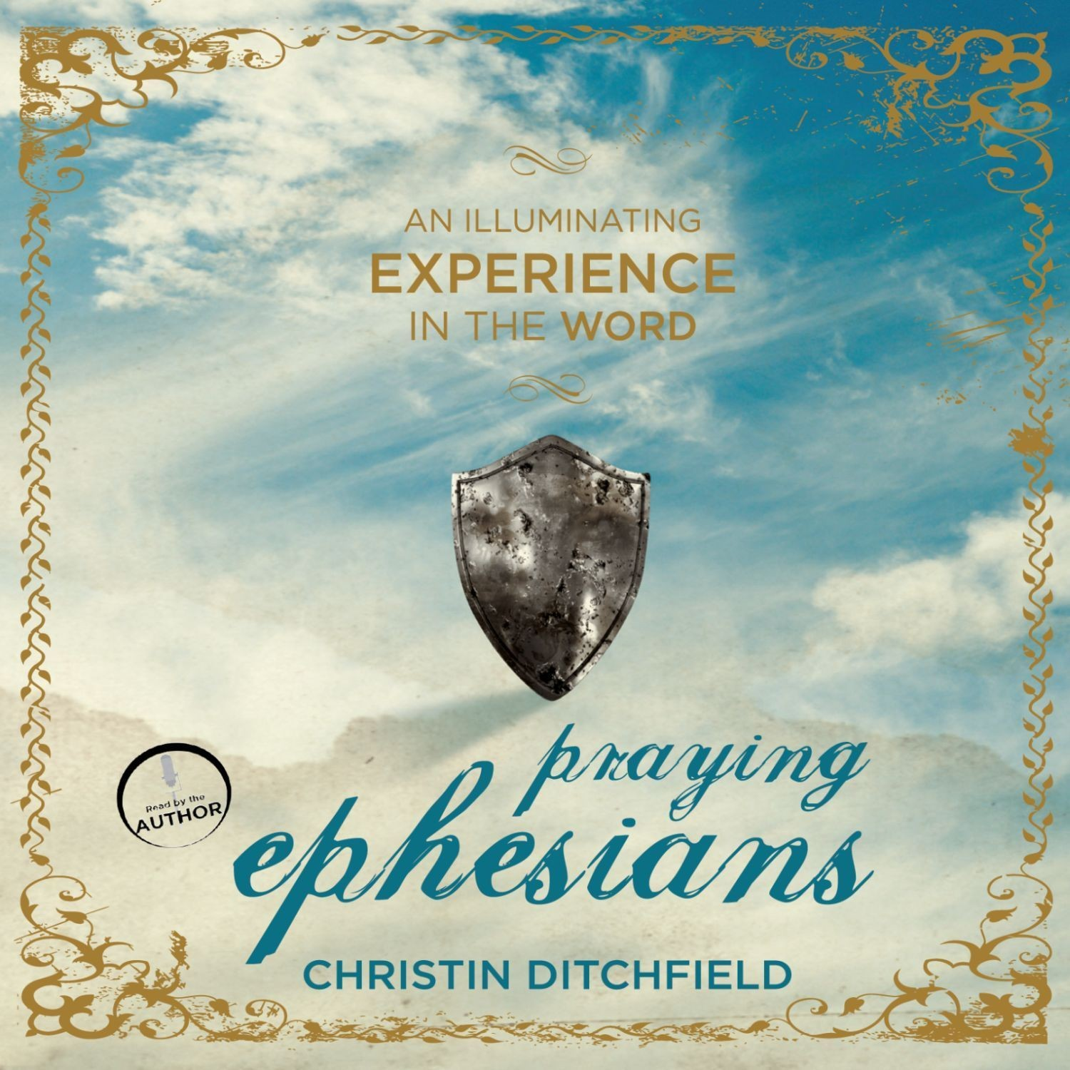 Printable Praying Ephesians: Live Strong! You've Been Chosen for Greatness Audiobook Cover Art