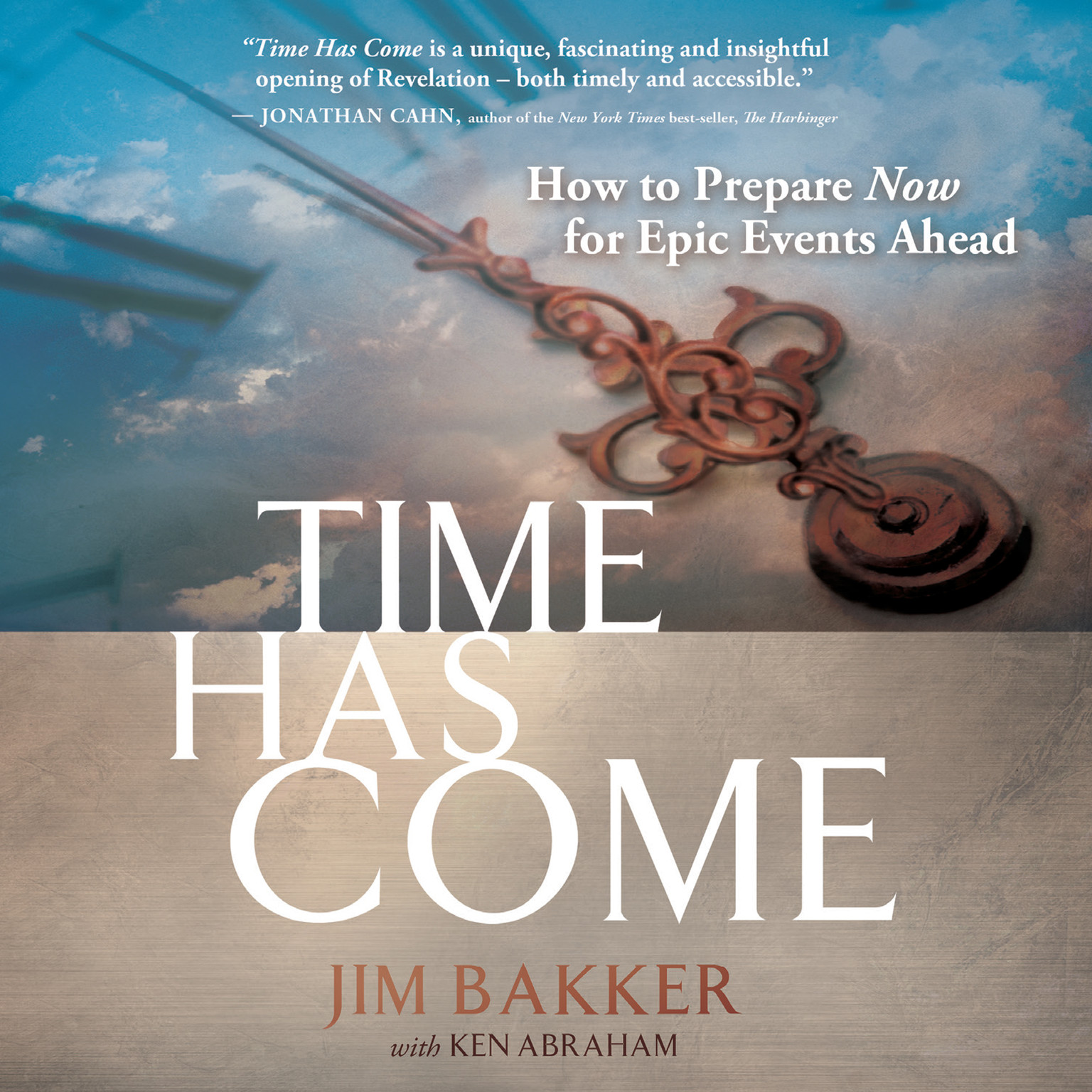 Printable Time Has Come Audiobook Cover Art
