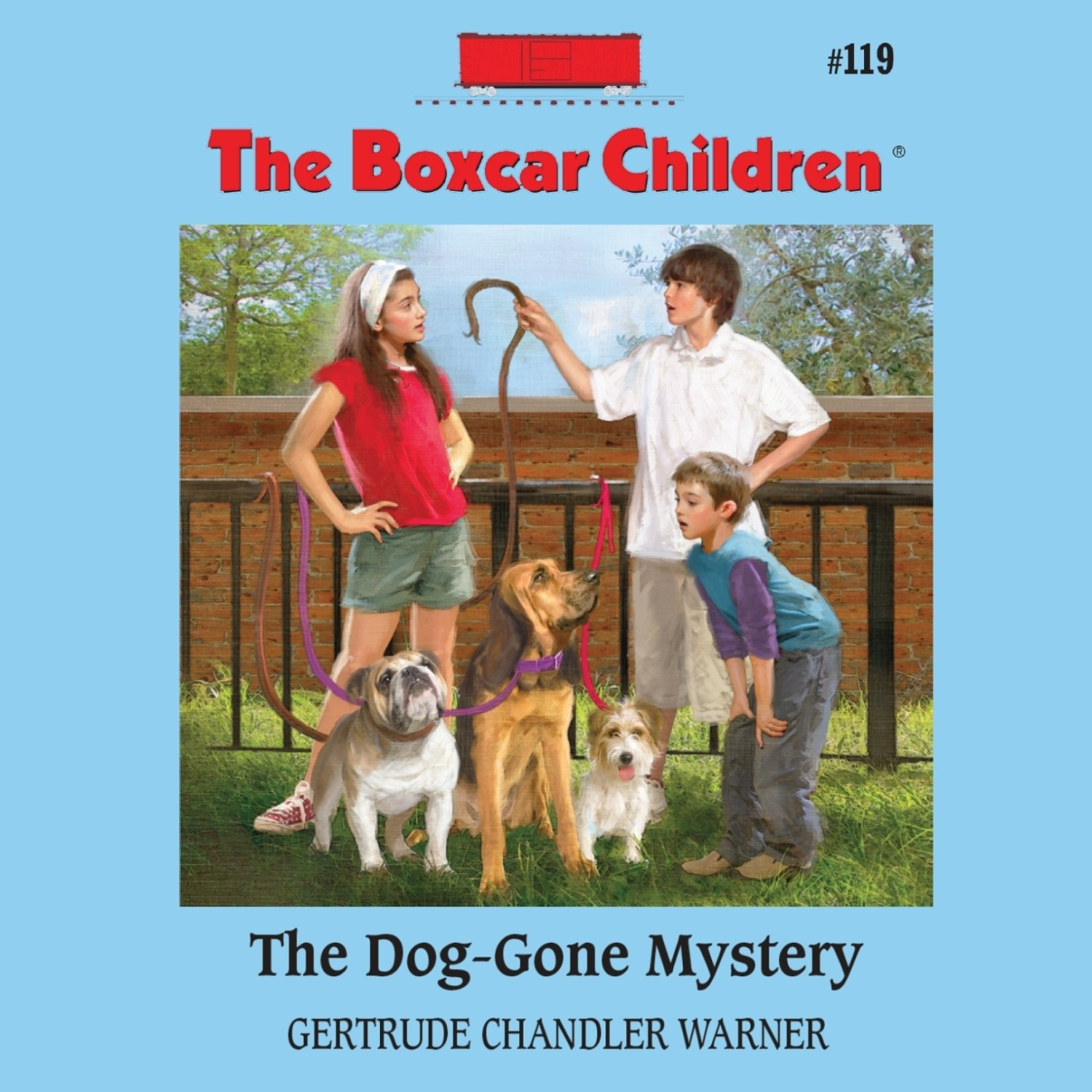 Printable The Dog-Gone Mystery Audiobook Cover Art
